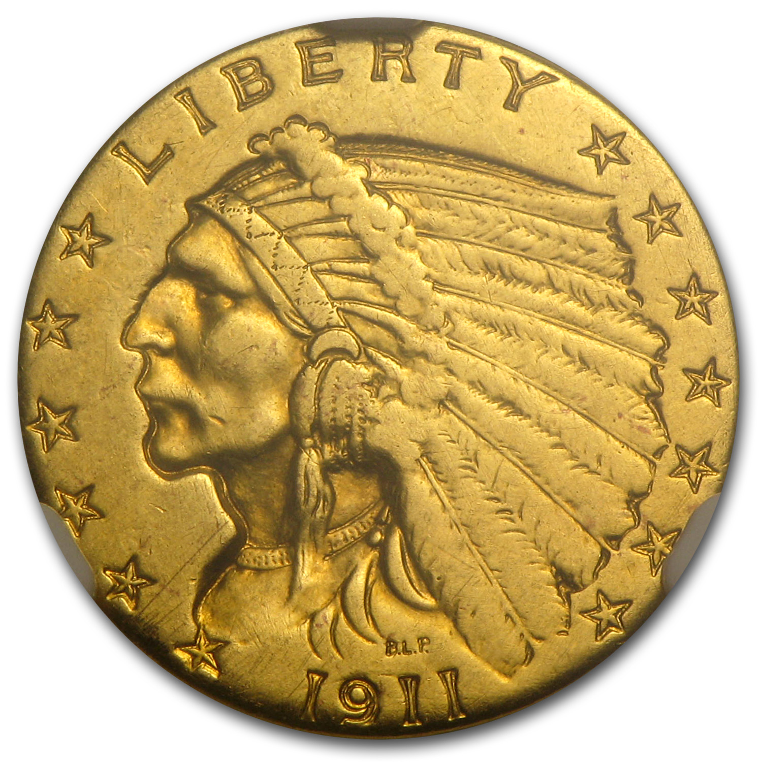 1911-D $2.50 Indian Gold - Strong-D - AU Details NGC - (Jewelry)