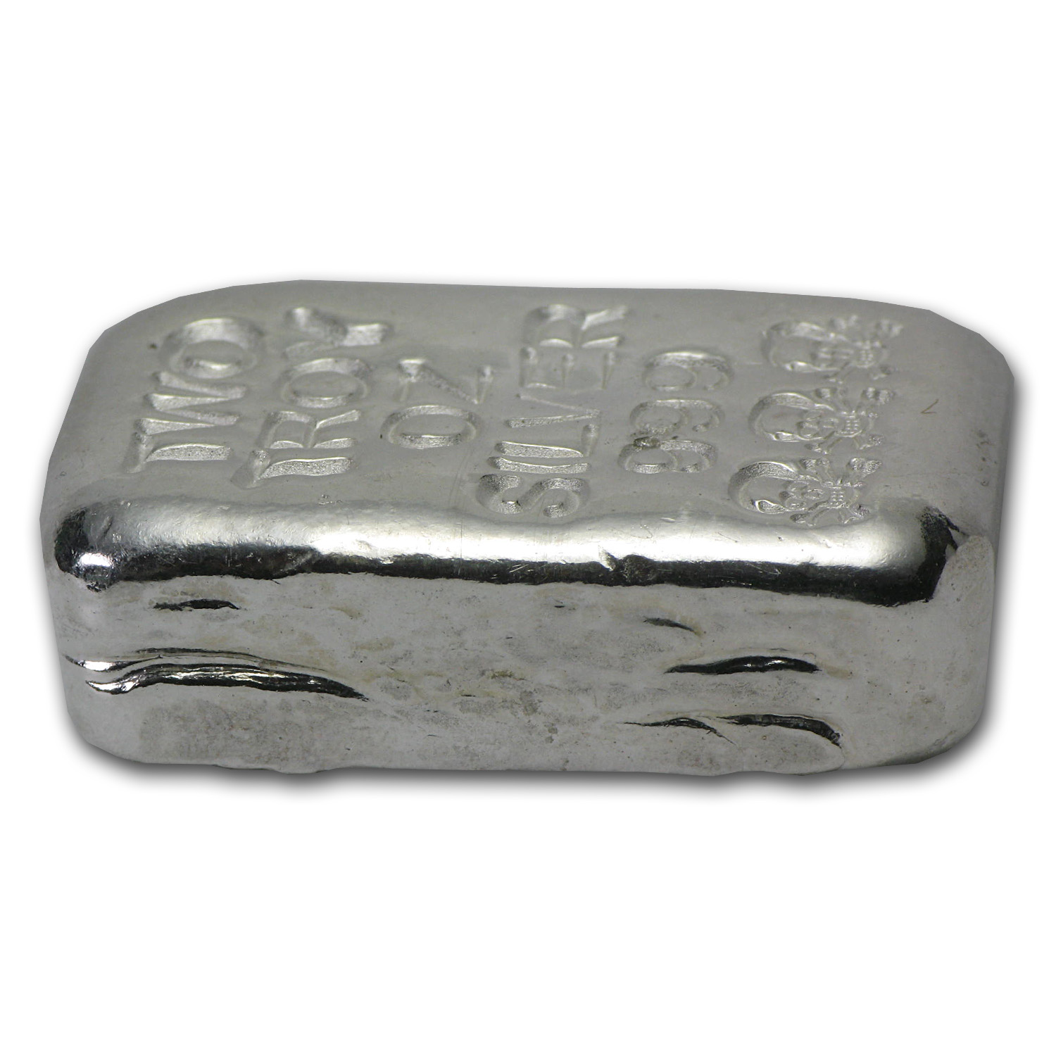 2 oz Silver Bars - Skull & Bones (Atlantis Mint)
