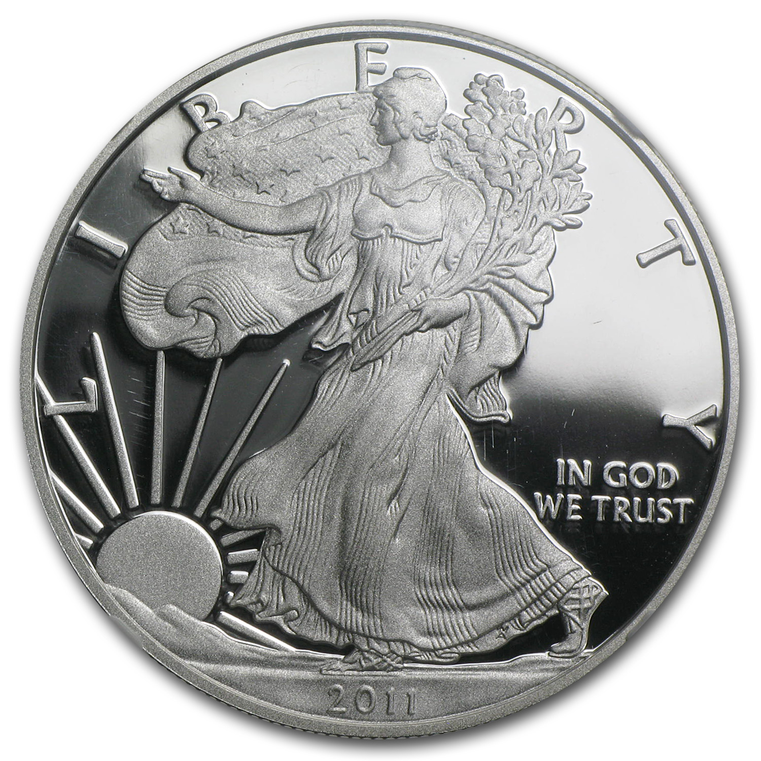 2011-W Proof Silver Eagle 25th Anniversary PF-70 NGC