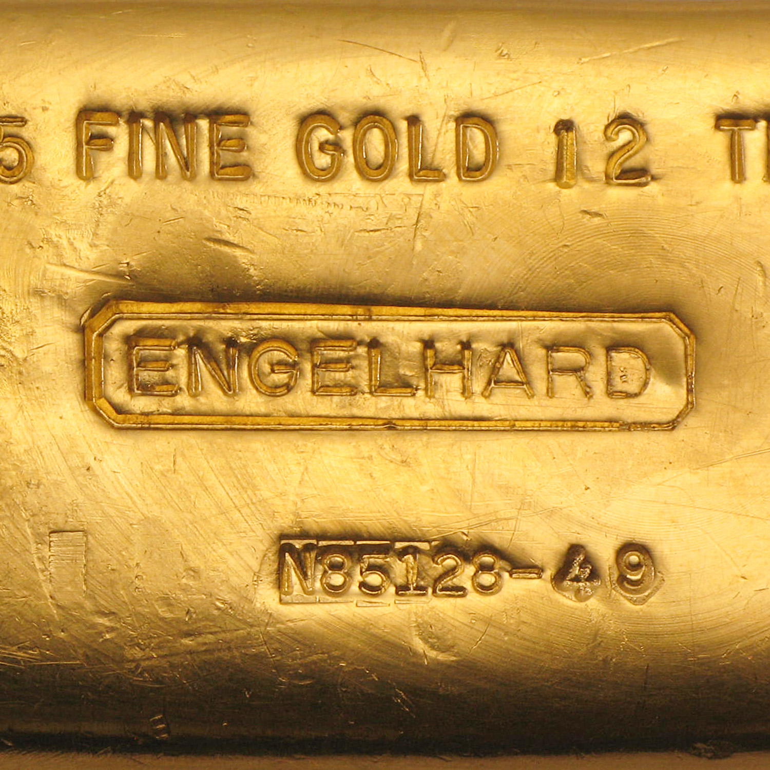 12 oz Gold Bars - Engelhard (Poured, .9995 Fine)