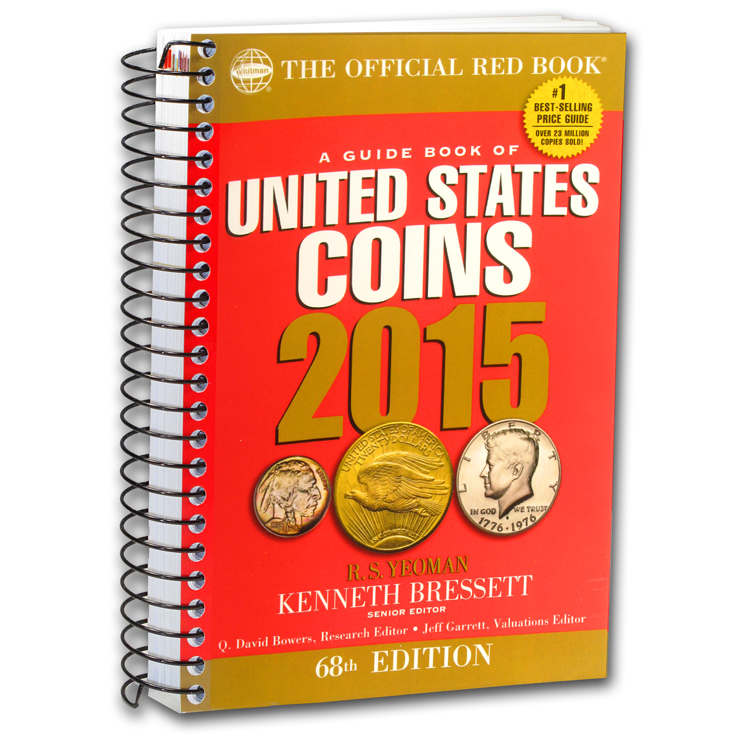 2015 Red Book of United States Coins - Bressett & Yeoman (Spiral)