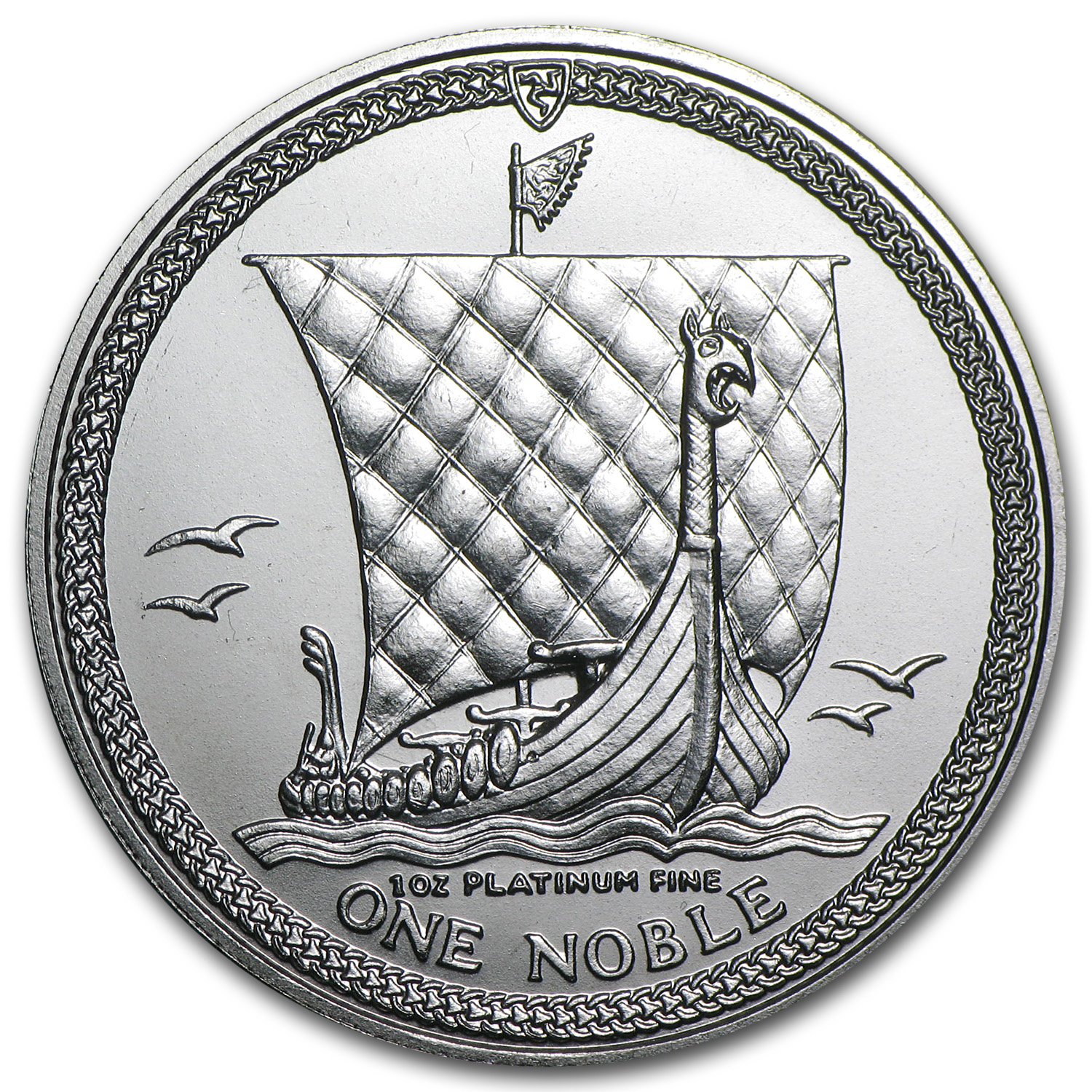 1987 Isle of Man 1 oz Platinum Noble BU or Proof
