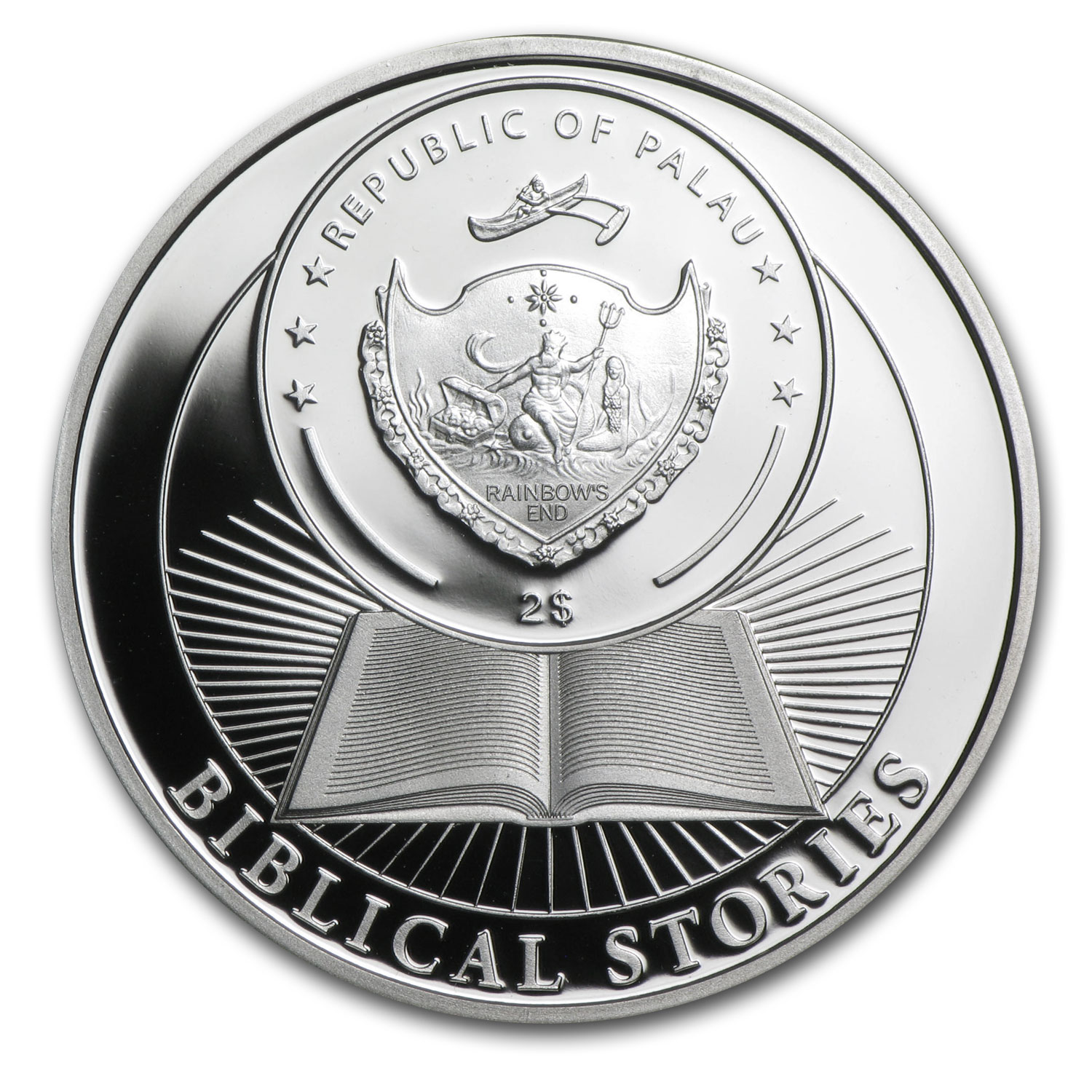Palau 2014 Proof Silver - Resurrection of Jesus 3-Coin Egg Set