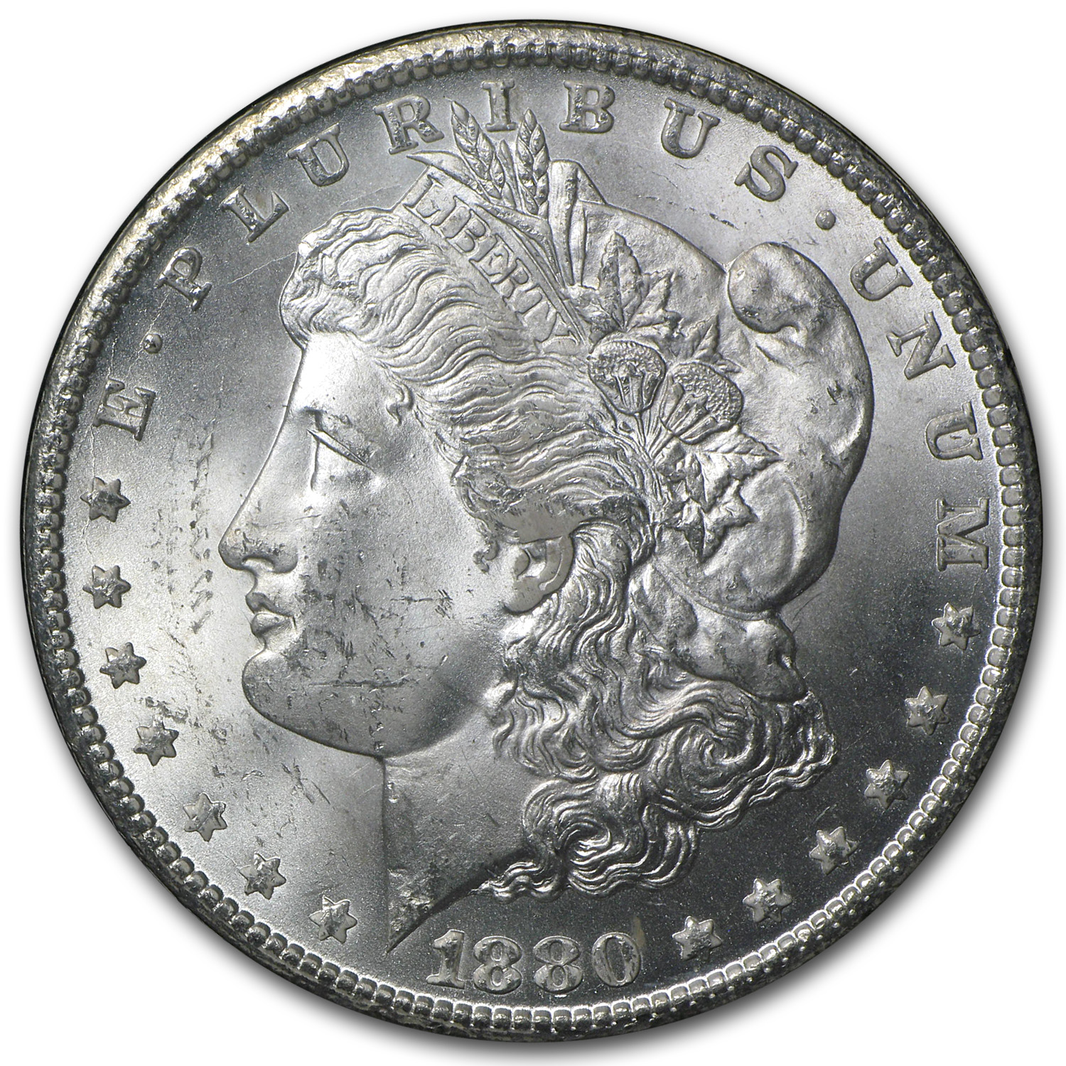 1880-CC Morgan Dollar MS-64 PCGS - GSA Certified