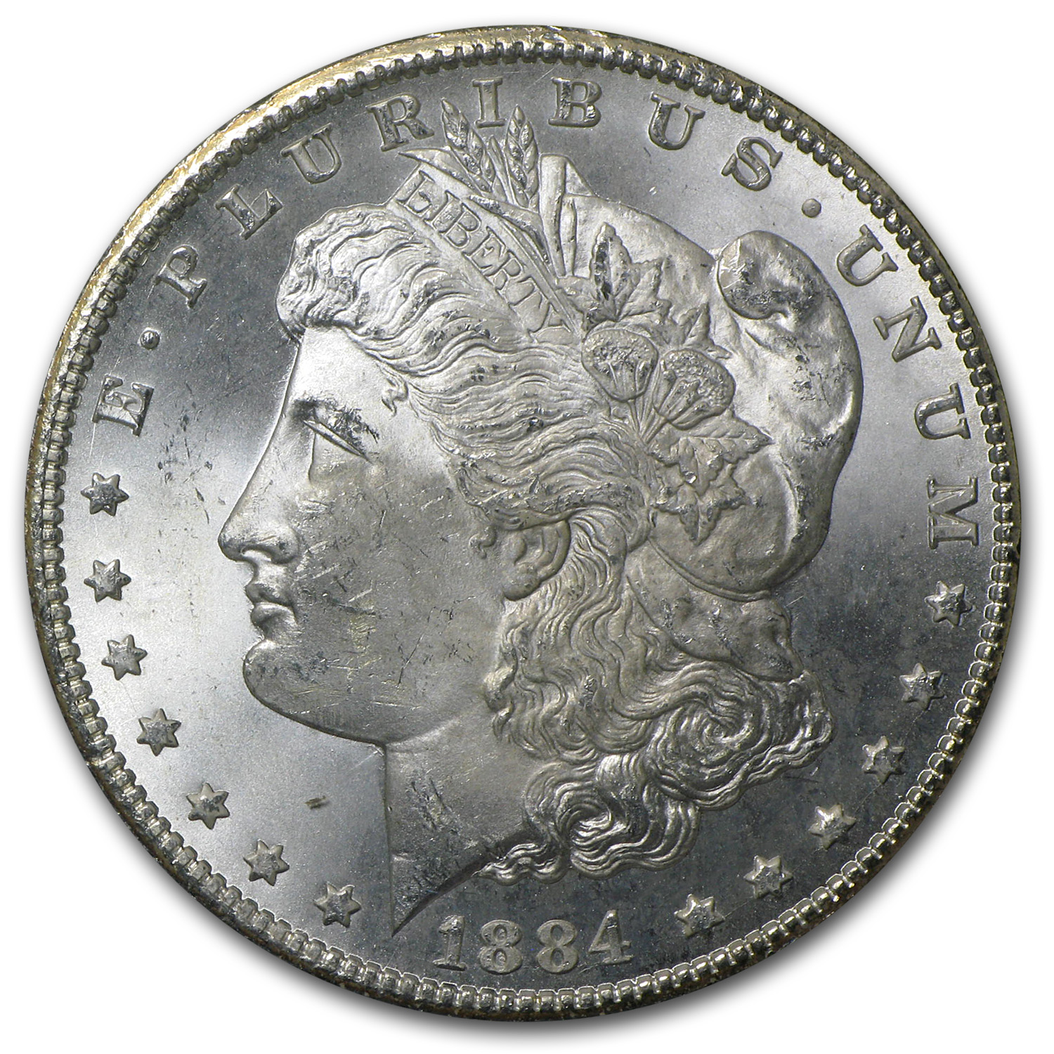 1882-1884-CC Morgan Dollar MS-65 NGC - GSA Holder