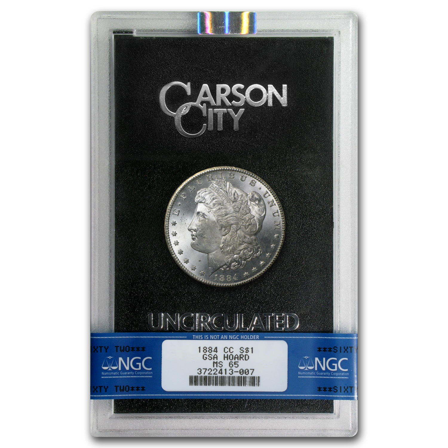 1882-1884-CC Morgan Dollar MS-65 NGC (GSA Holder)