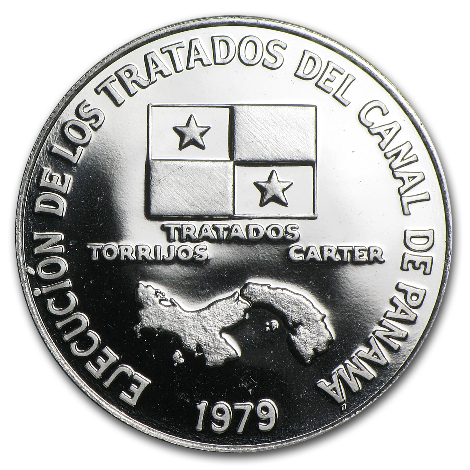 1979 Panama Platinum 200 Balboas Proof (APW .2993 oz)