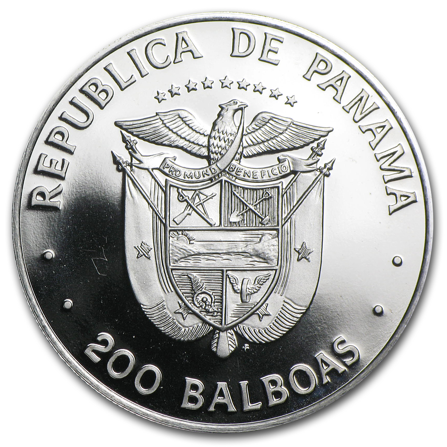 1979 Panama Proof Platinum 200 Balboas APW .2993