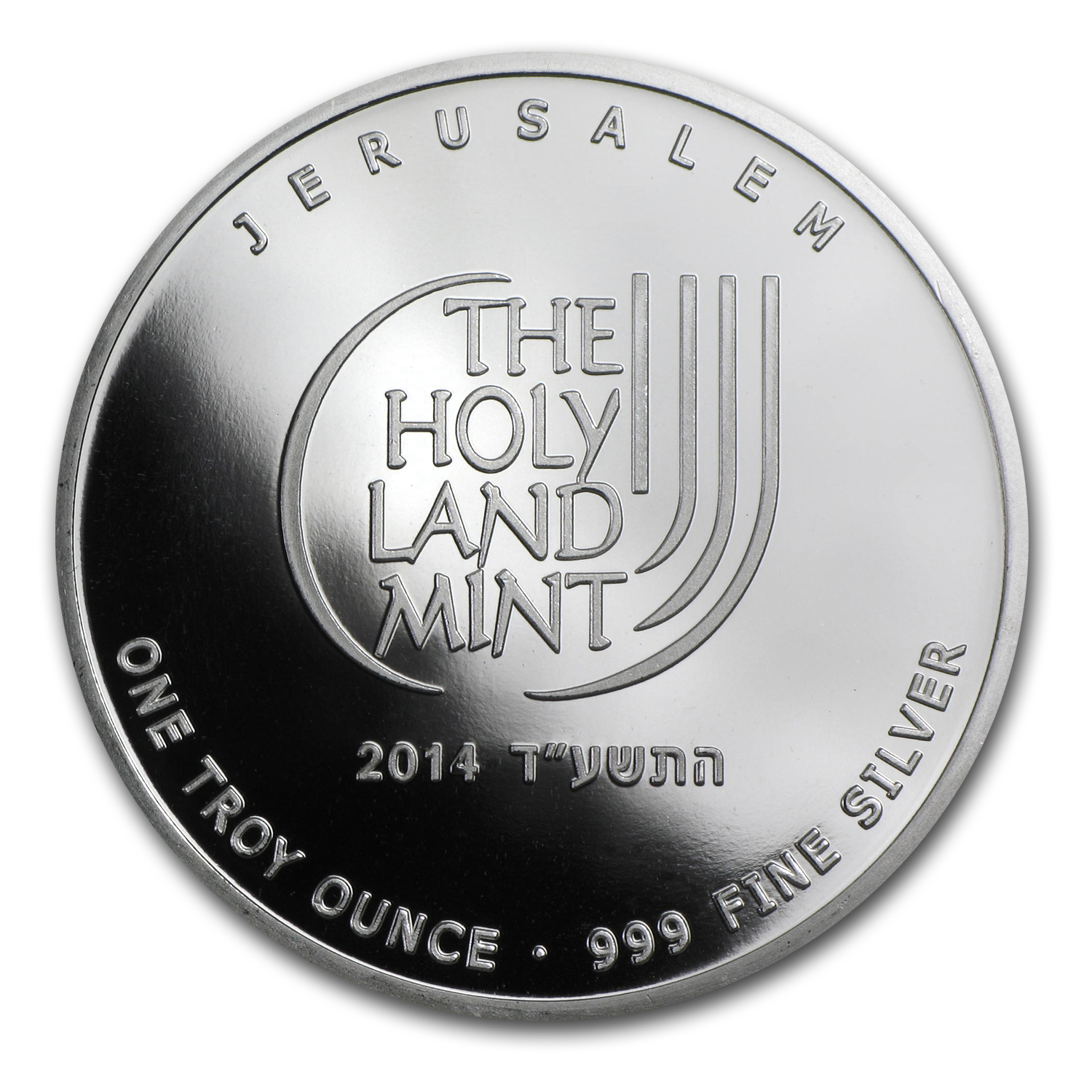 2014 1 oz Silver Round - Dove of Peace