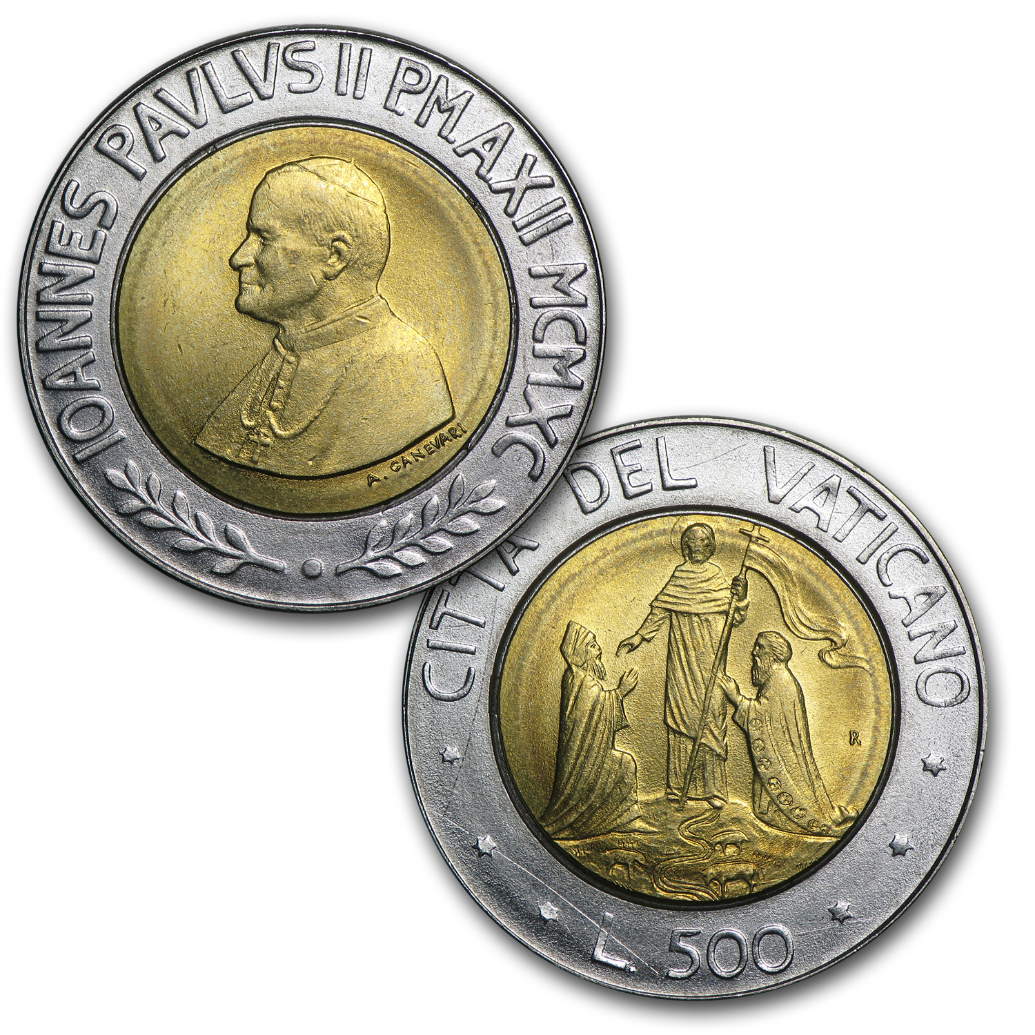 Vatican City St. John Paul II 3 Pc Set