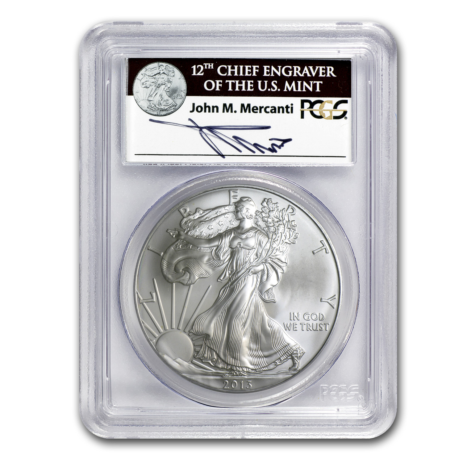 2013 1 Oz Silver American Eagle Bu Silver Eagles West