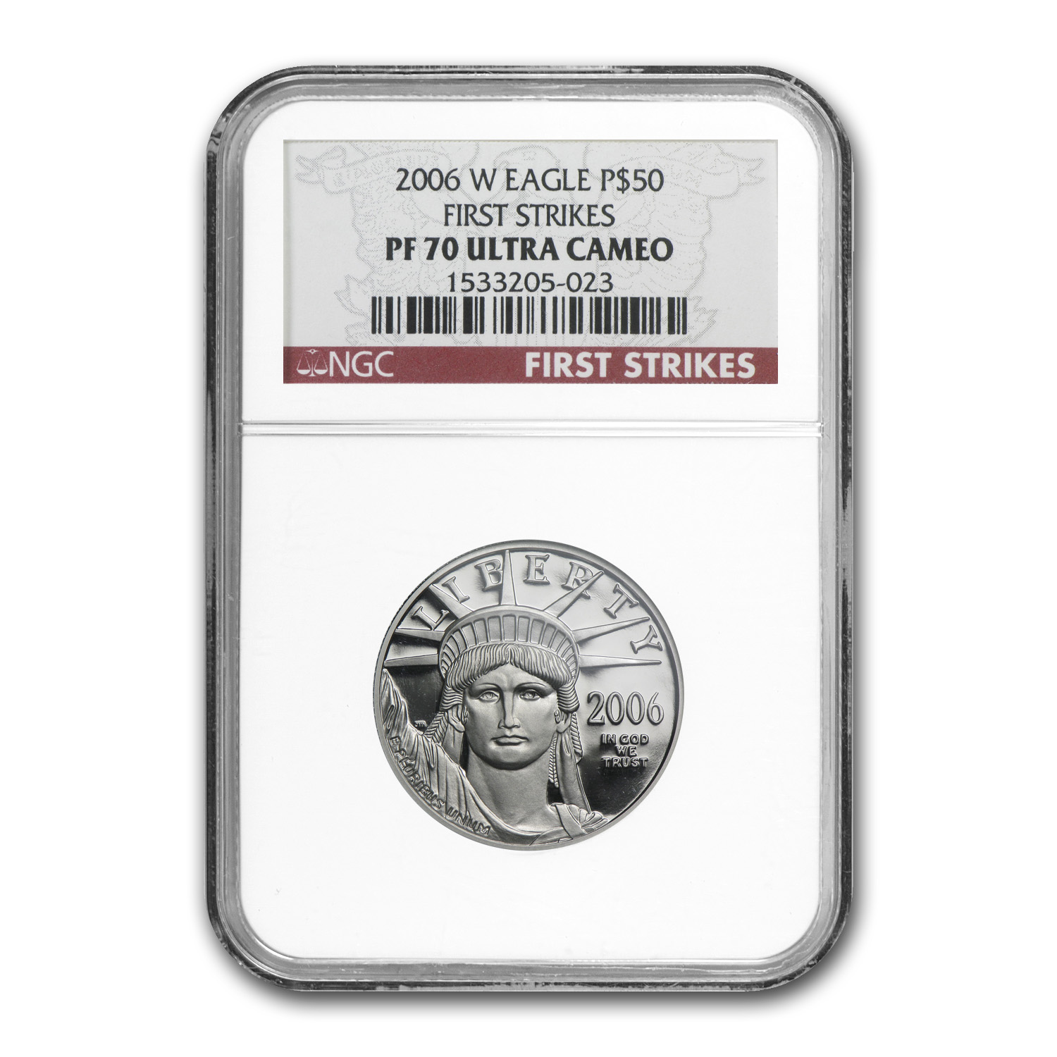 2006-W 4-Coin Platinum American Eagle Set PF-70 NGC First Strike