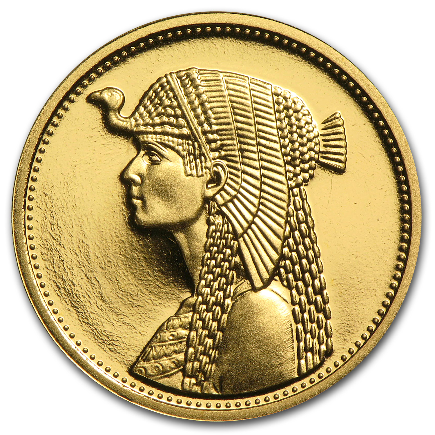 Ah1414 1993 Egypt Proof Gold 50 Pound Cleopatra Gold