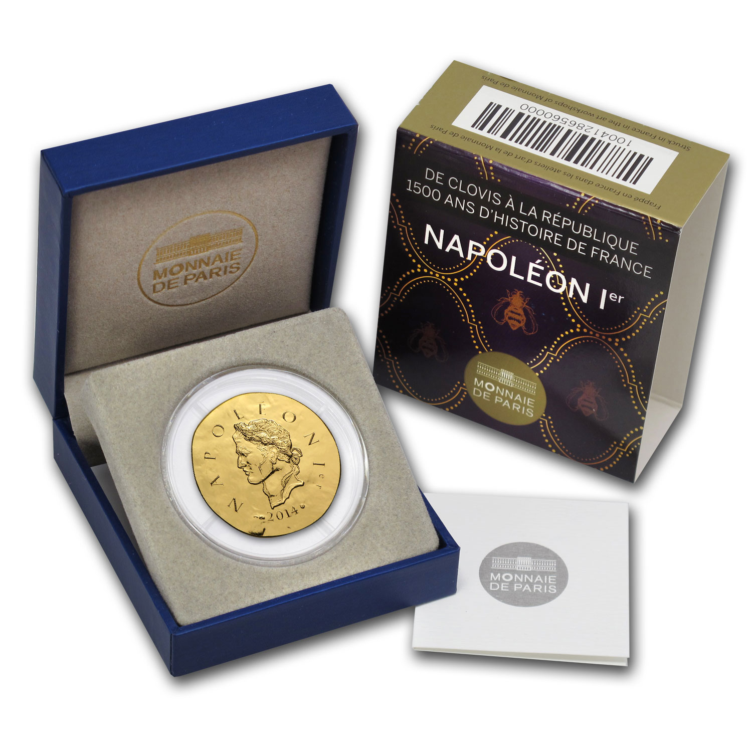 2014 1/4 oz Proof Gold €50 Legendary Collection Napoleon I