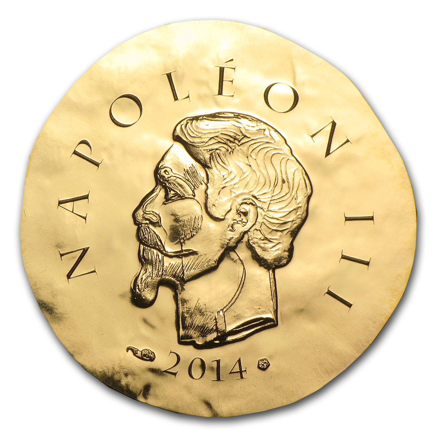 2014 €50 1/4 oz Gold Proof Legendary Collection - Napoleon III