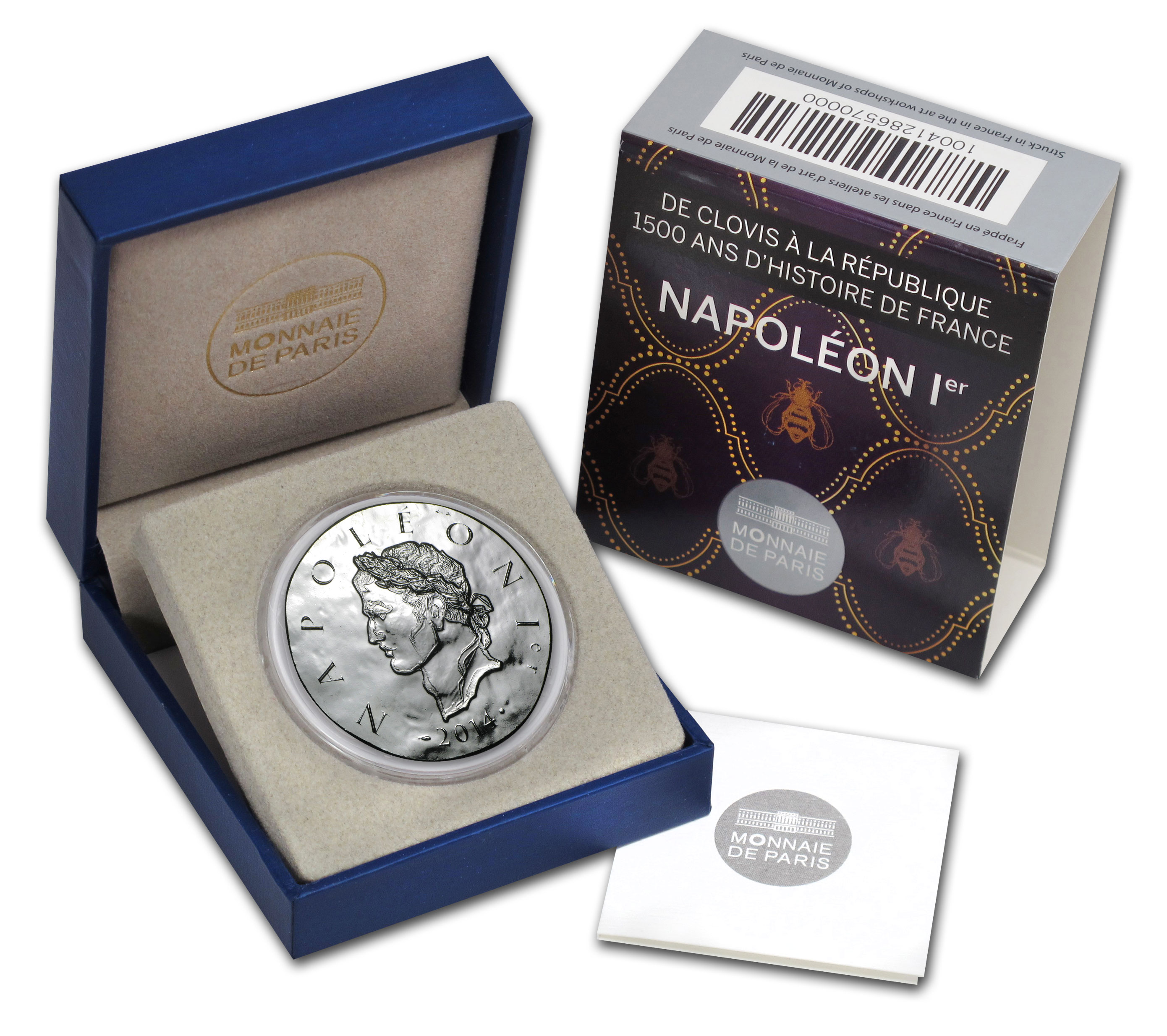 2014 Silver France €10 Legendary Collection Proof (Napoleon I)