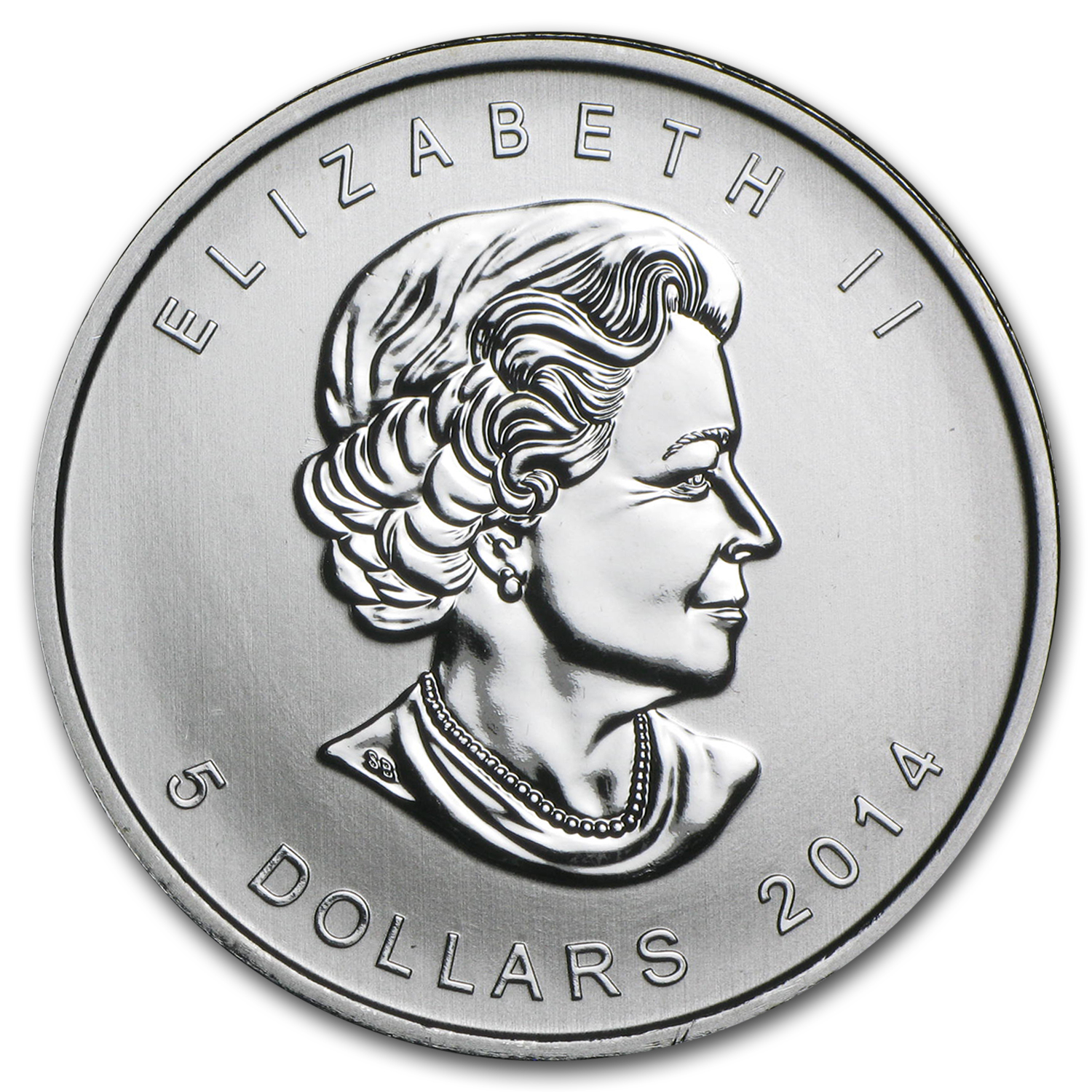 2014 1 oz Silver Canadian Coin - Five Blessings