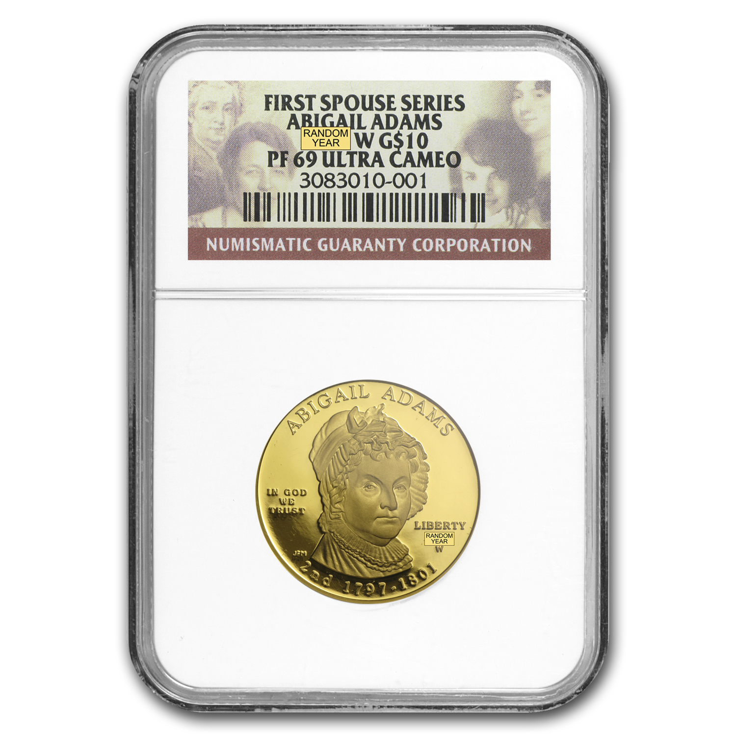 1/2 oz Proof Gold First Spouse Coins PF-69 NGC (Random Year)