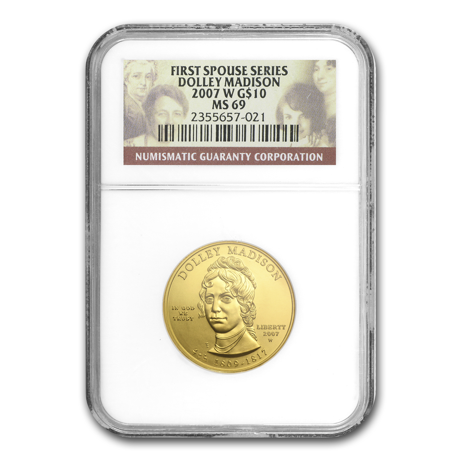 1/2 oz Gold First Spouse Coins MS-69 NGC (Random Year)