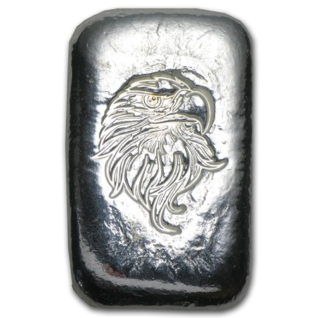 1 Oz Silver Bar Atlantis Mint Eagle Head 1 Oz