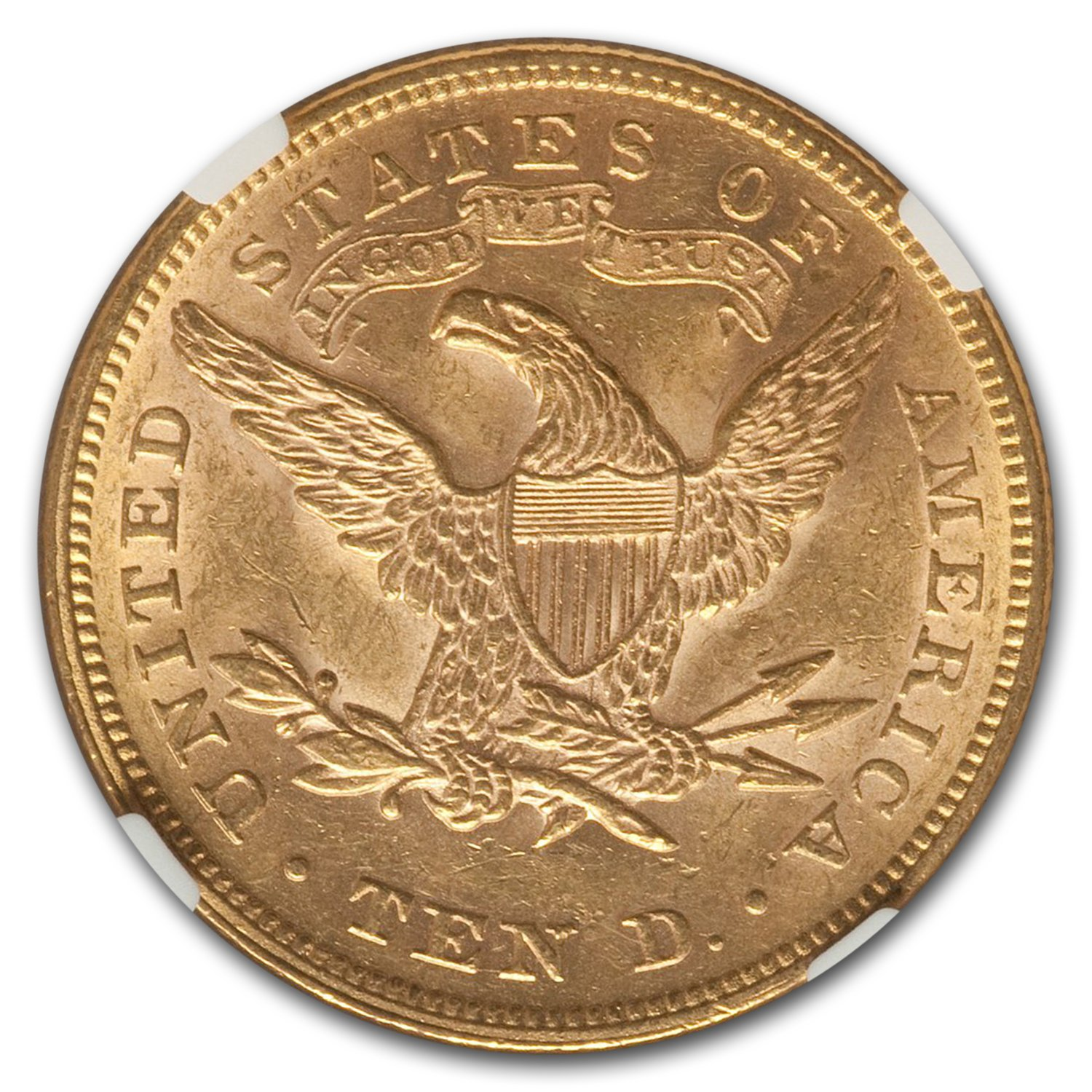 1878 $10 Liberty Gold Eagle - MS-61 NGC