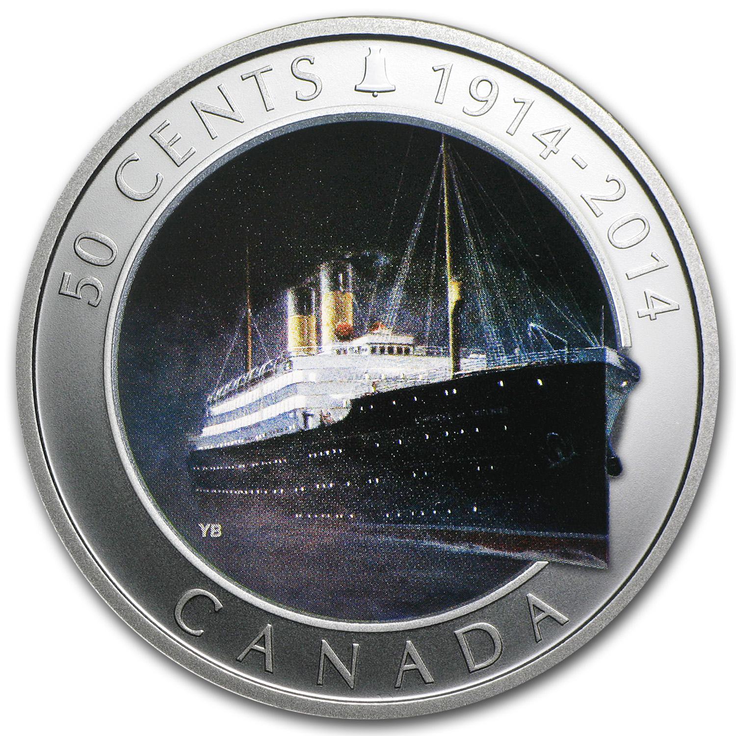2014 Silver-Plated Can. Lost Ships R.M.S. Empress of Ireland