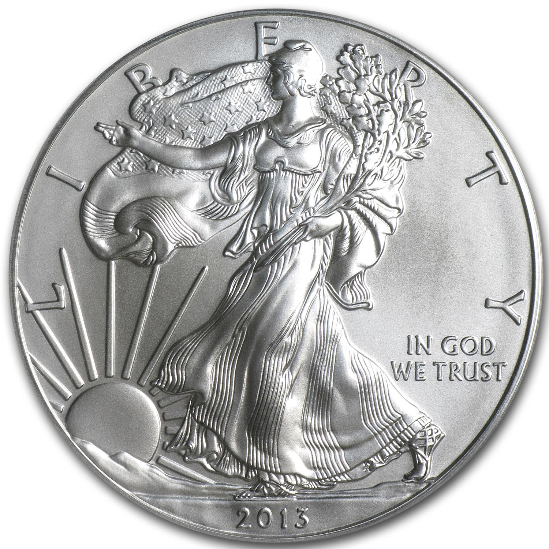 1 Oz Silver American Eagle Cull Damaged Etc