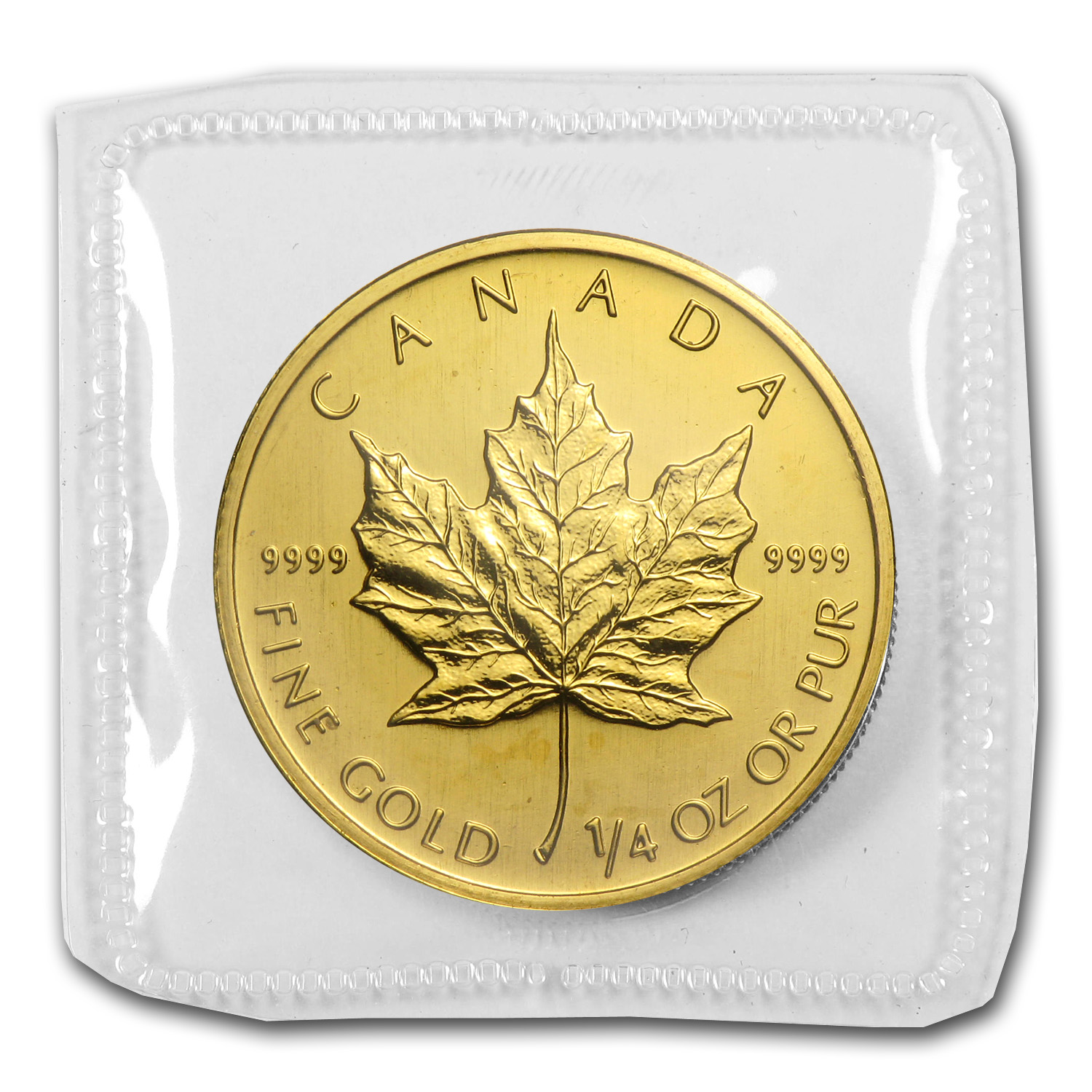 2003 1/4 oz Gold Canadian Maple Leaf