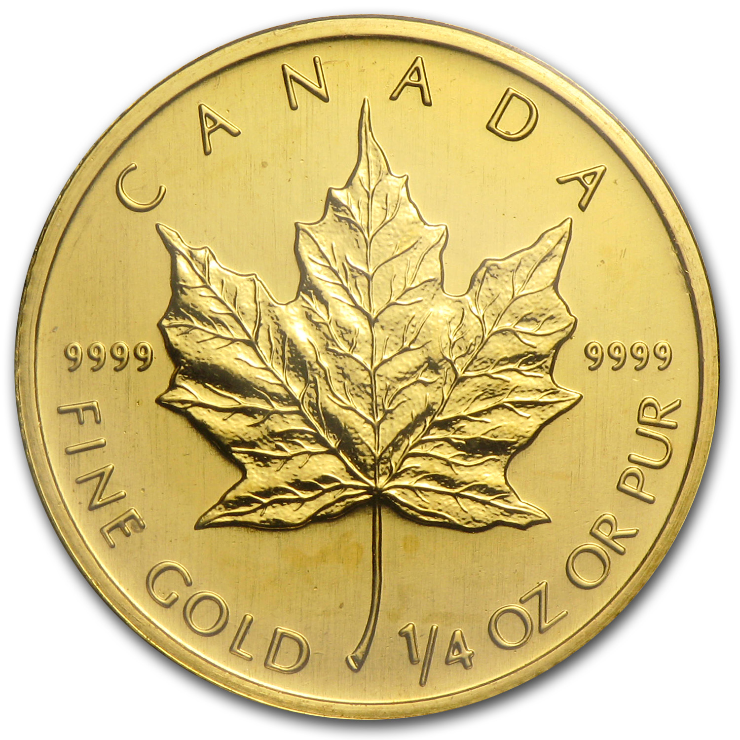 2003 Canada 1/4 oz Gold Maple Leaf BU