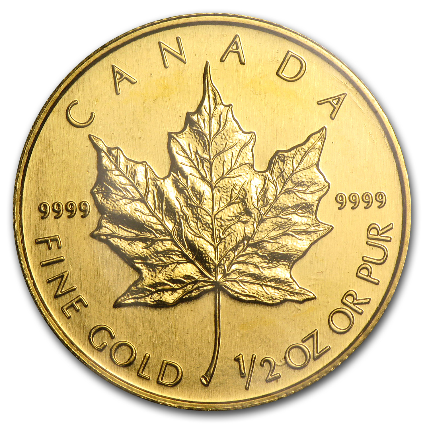 2003 1/2 oz Gold Canadian Maple Leaf