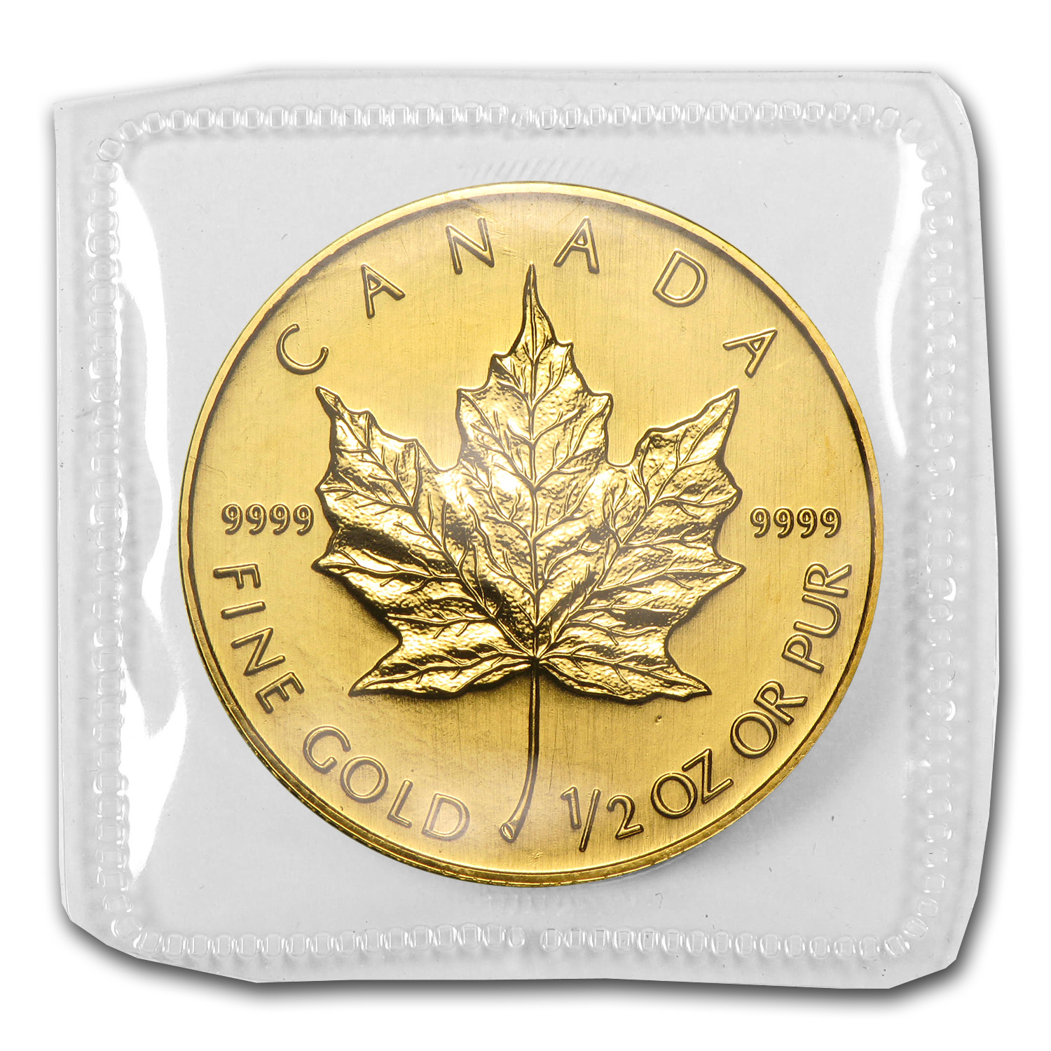 1994 Canada 1/2 oz Gold Maple Leaf BU