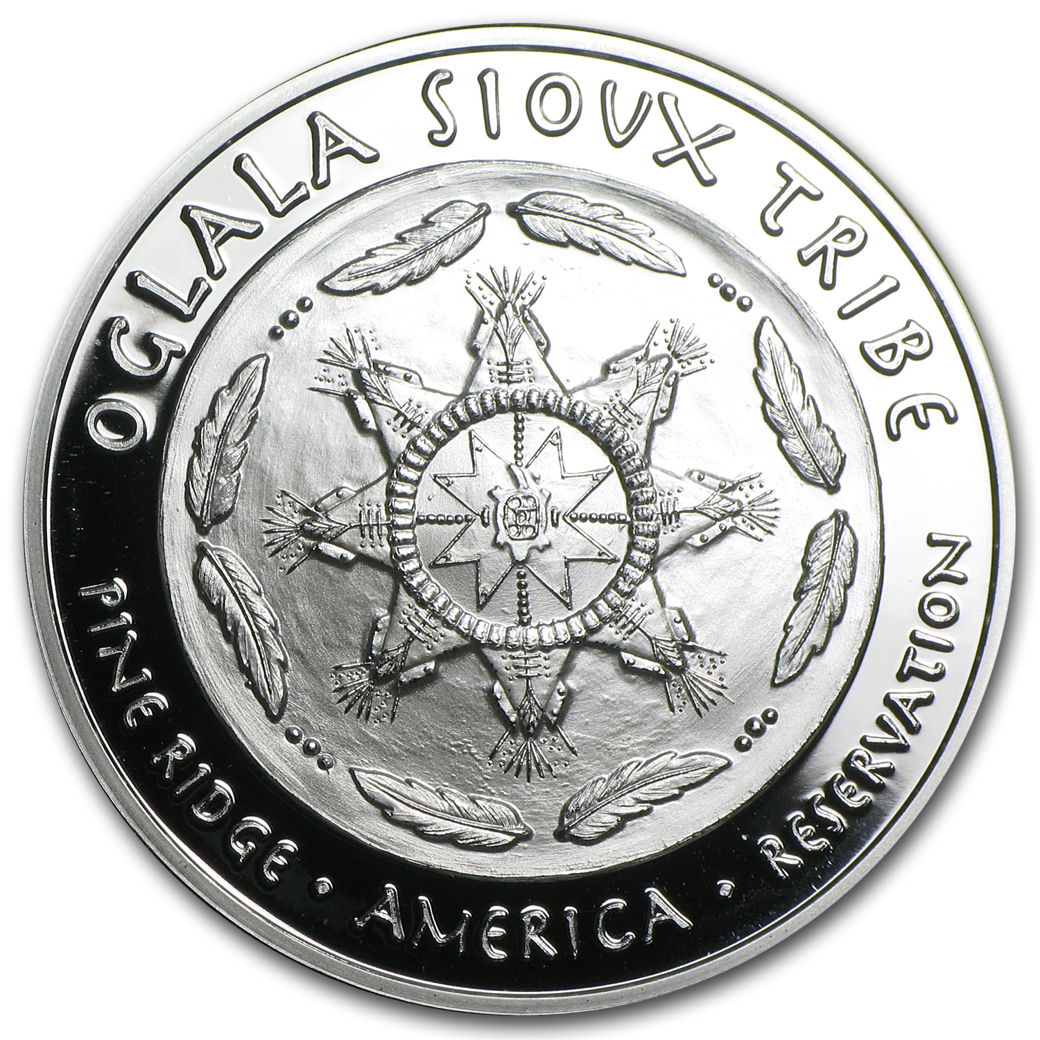 2014 1 oz Silver Oglala Sioux Tribe Proof