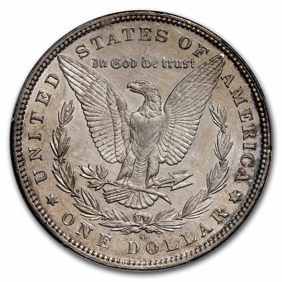 1895-O Morgan Dollar AU-53 PCGS