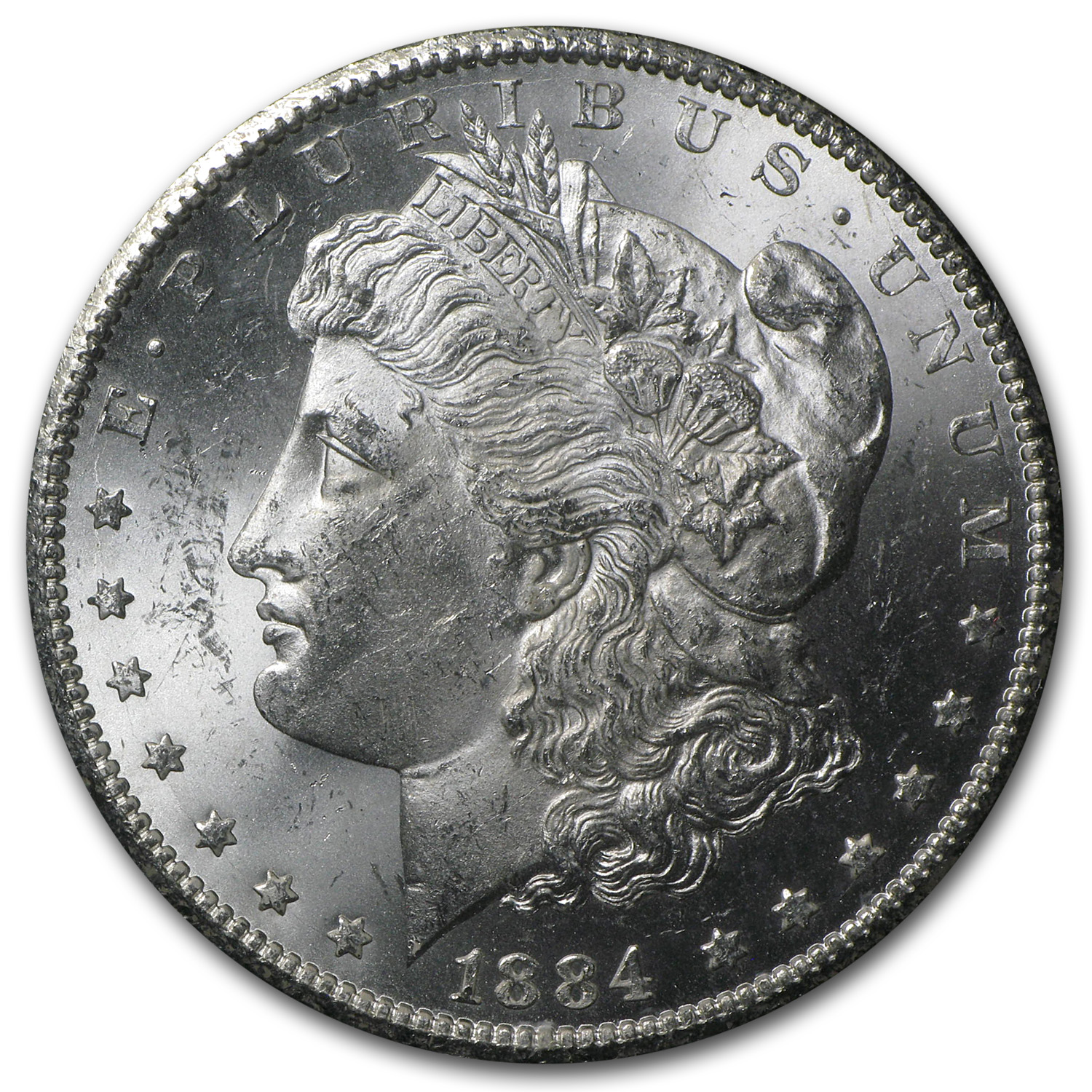 1884-CC Morgan Dollar MS-63 PCGS (GSA Certified)