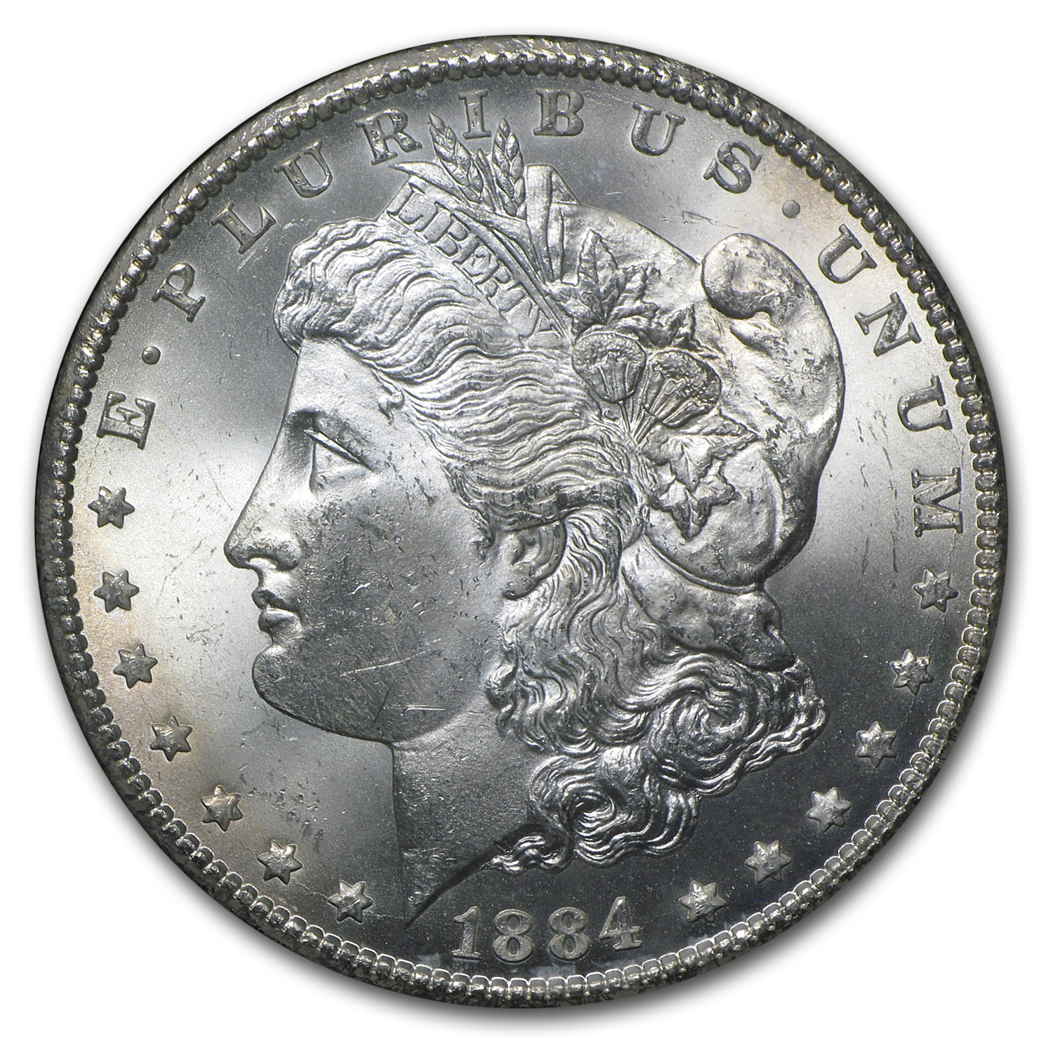 1884-CC Morgan Dollar MS-64 PCGS (GSA)