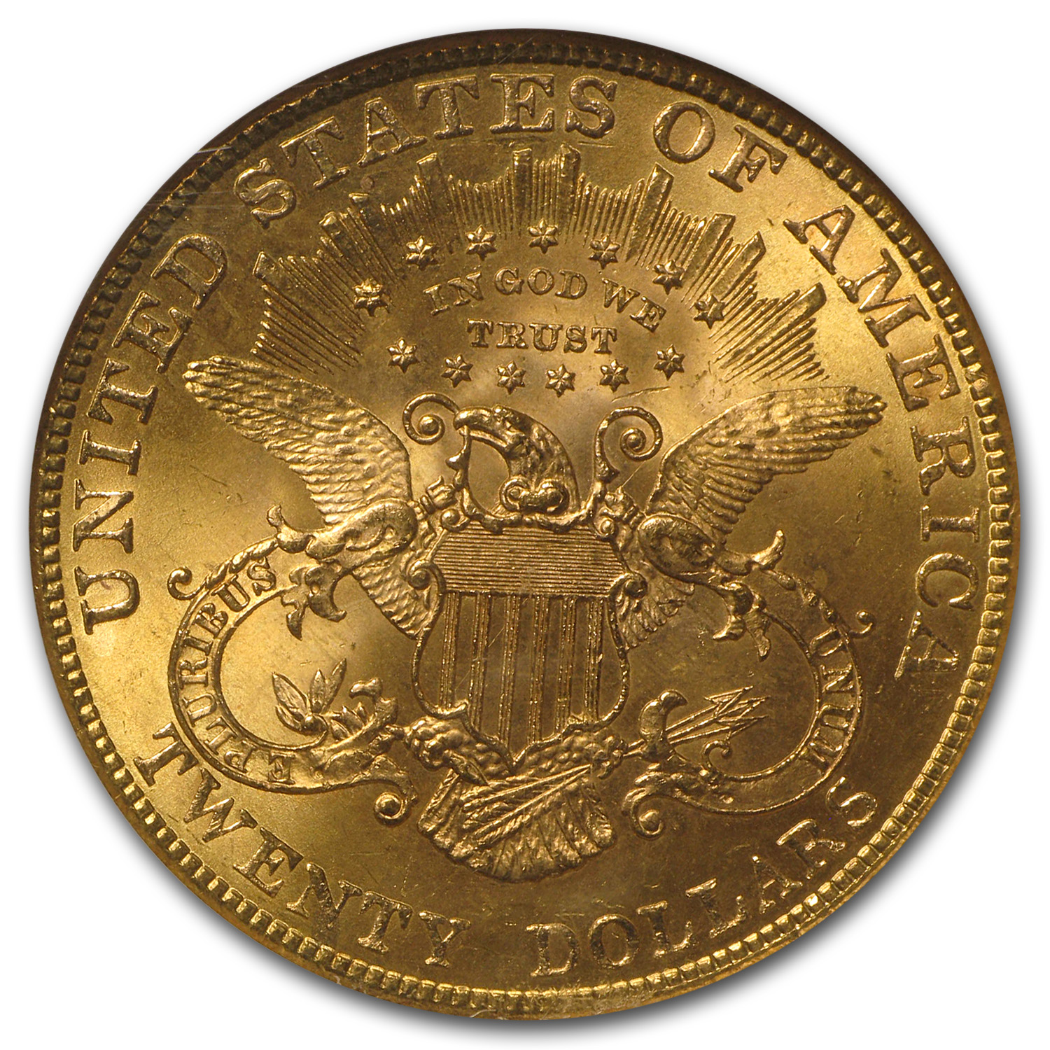 1901 $20 Liberty Gold Double Eagle MS-64 NGC