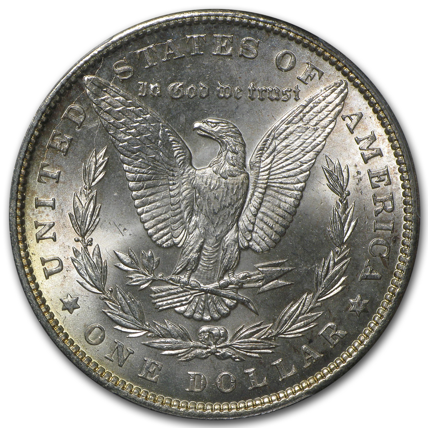 1897 Morgan Dollar - MS-64+ Plus PCGS - Beautiful Toning
