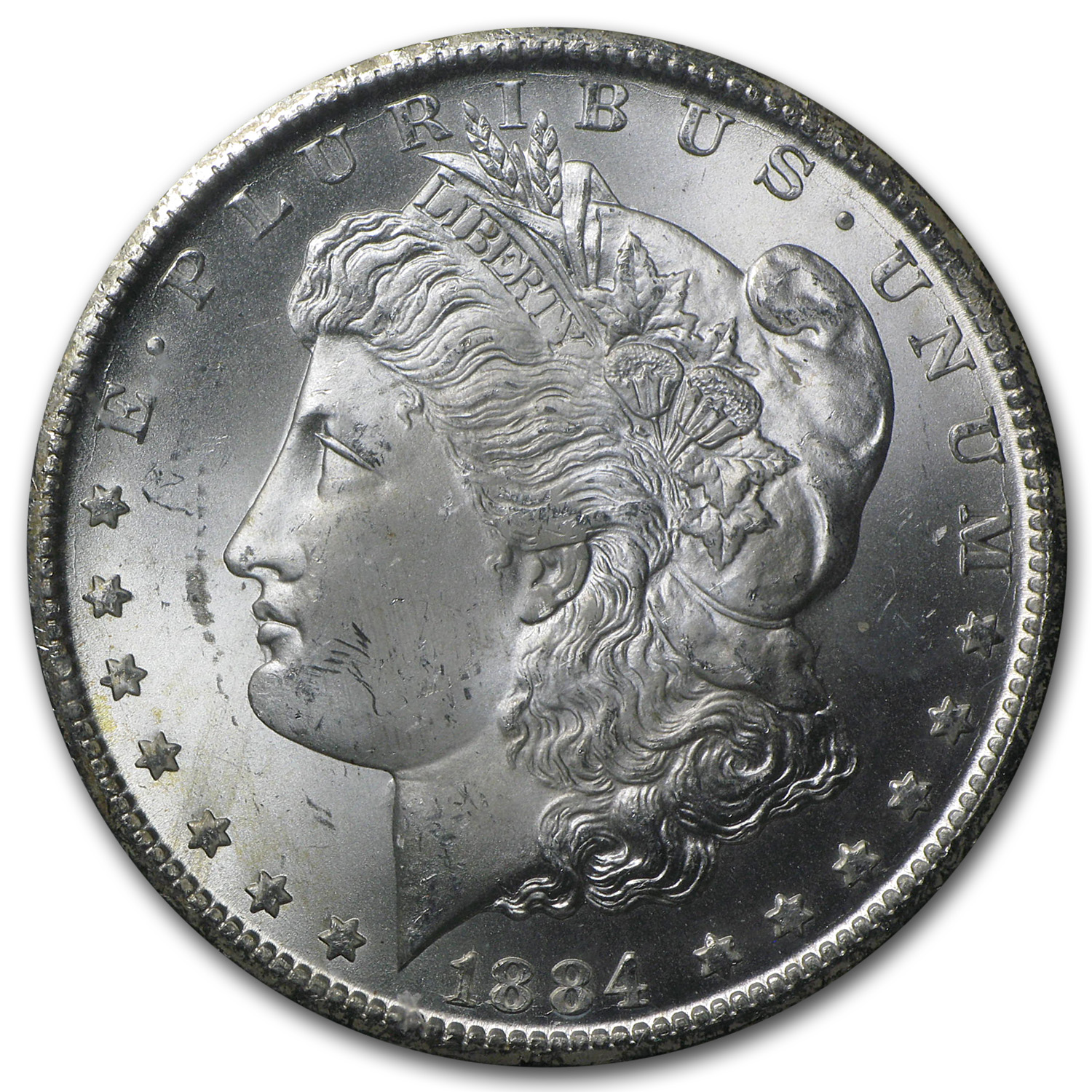 1882-1884-CC Morgan Dollar MS-64+ PCGS (GSA)