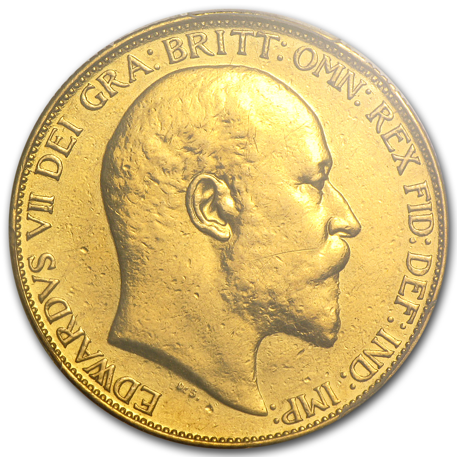 Great Britain 1902 Gold 2 Pound Edward VII (PCGS Genuine)