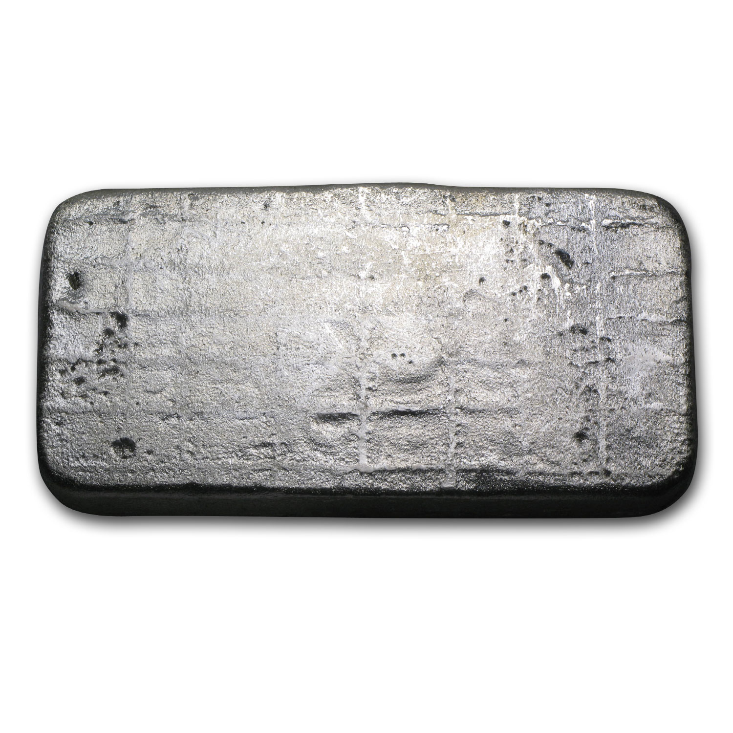 10 oz Silver Bar - Silvertowne (Poured/Vintage/Serial #)