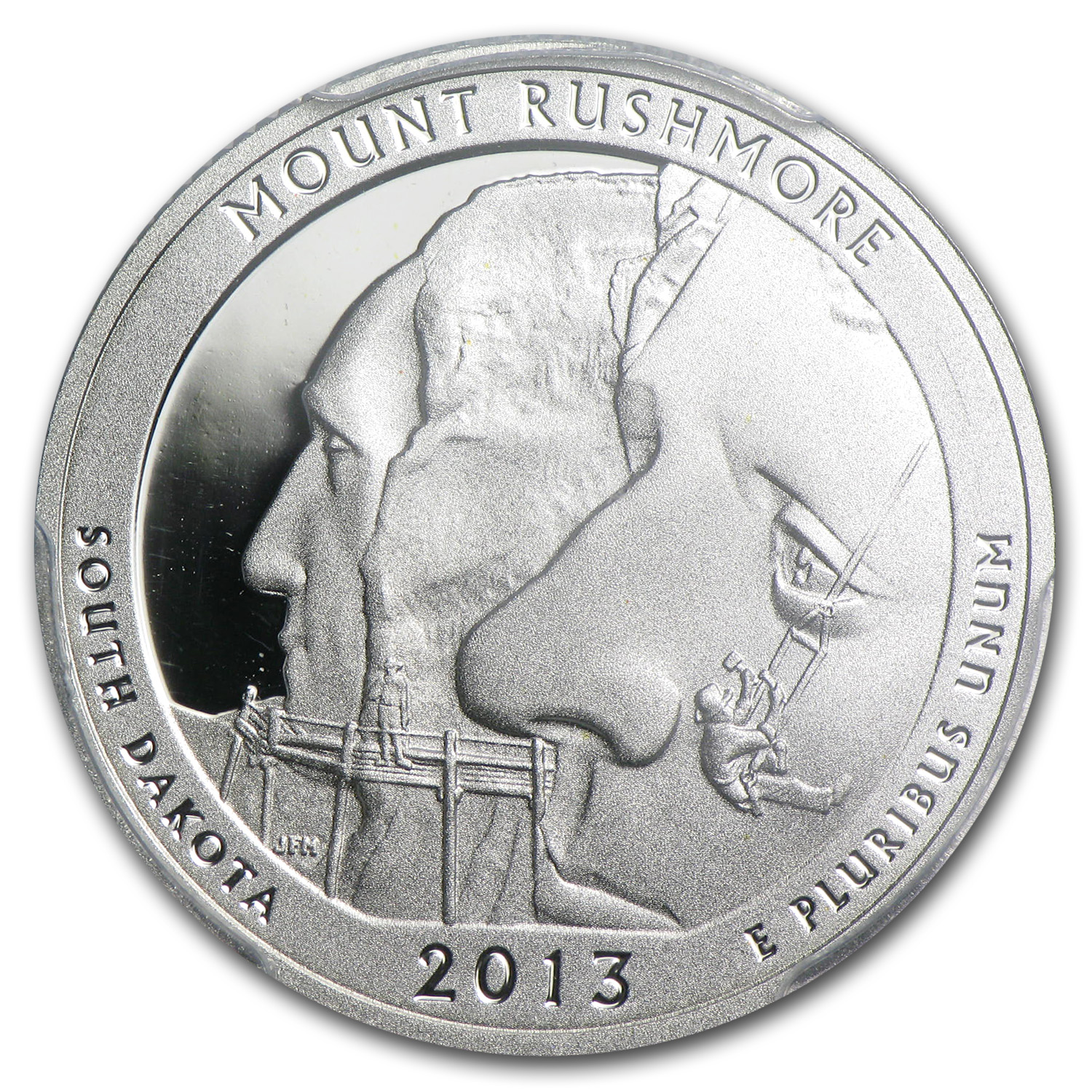 2013 Limited Edition Proof Silver Mount Rushmore Quarter PR-70 FS