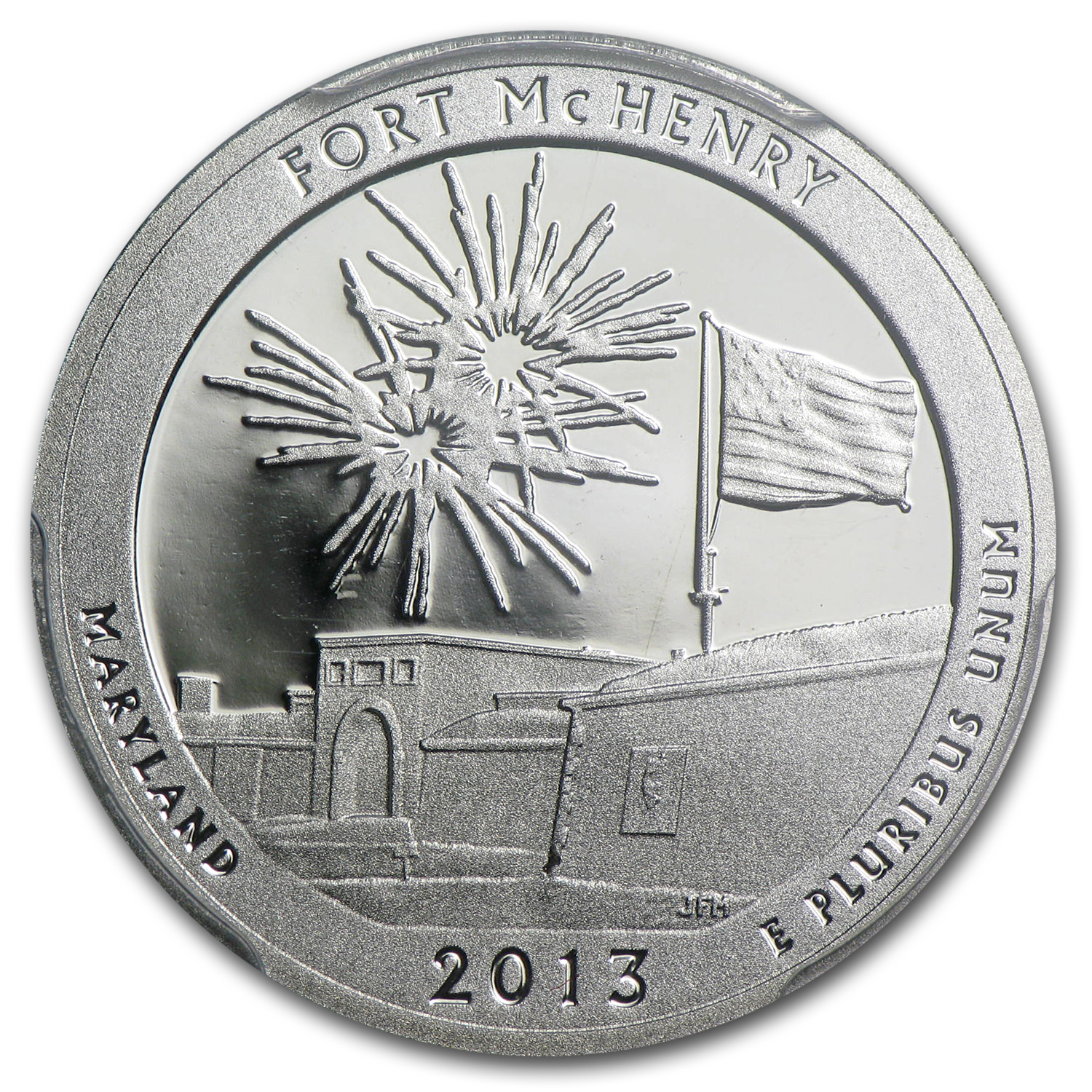 2013 Limited Edition Proof Silver Fort McHenry Quarter PR-70 FS
