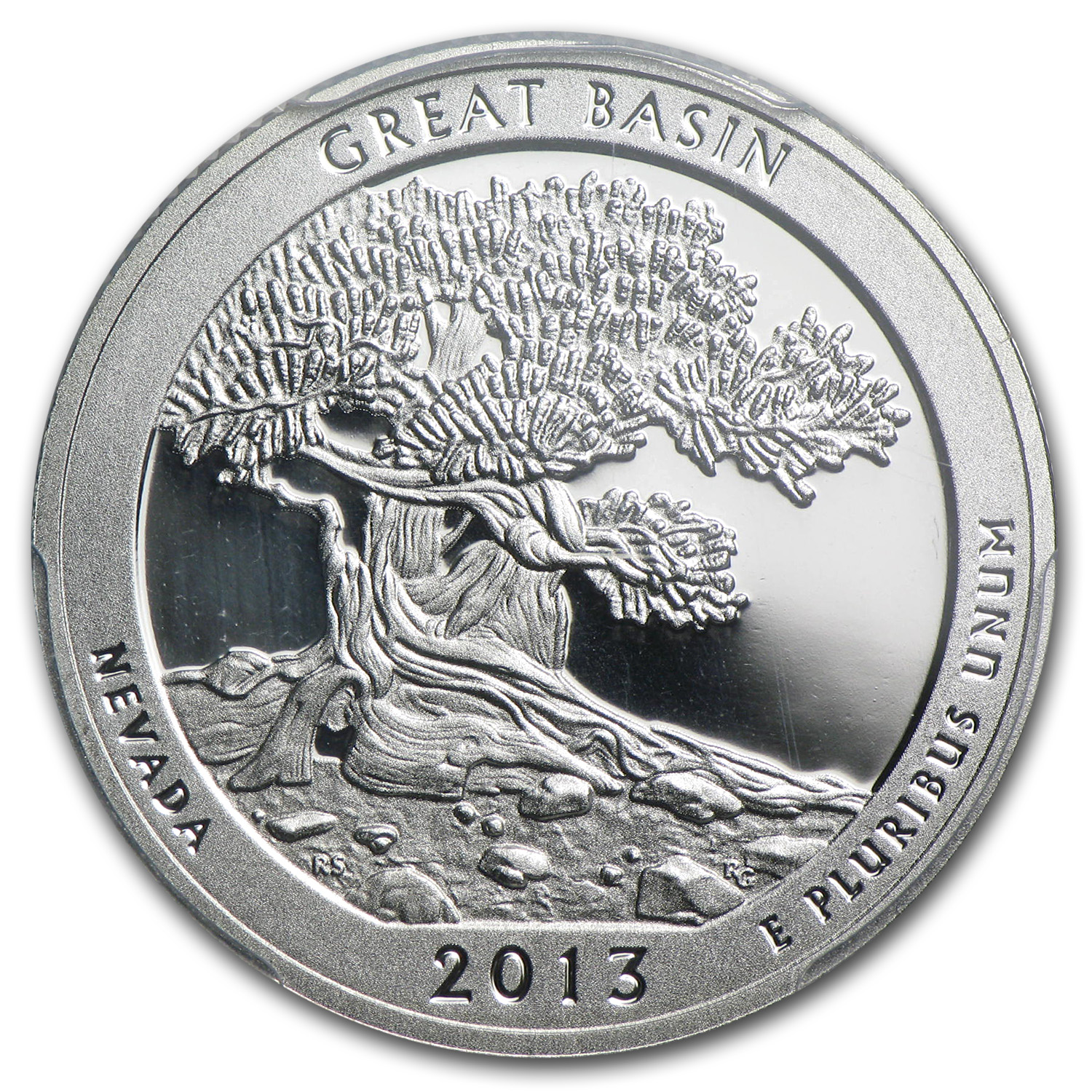 2013 Limited Edition Proof Silver Great Basin Quarter PR-69 FS