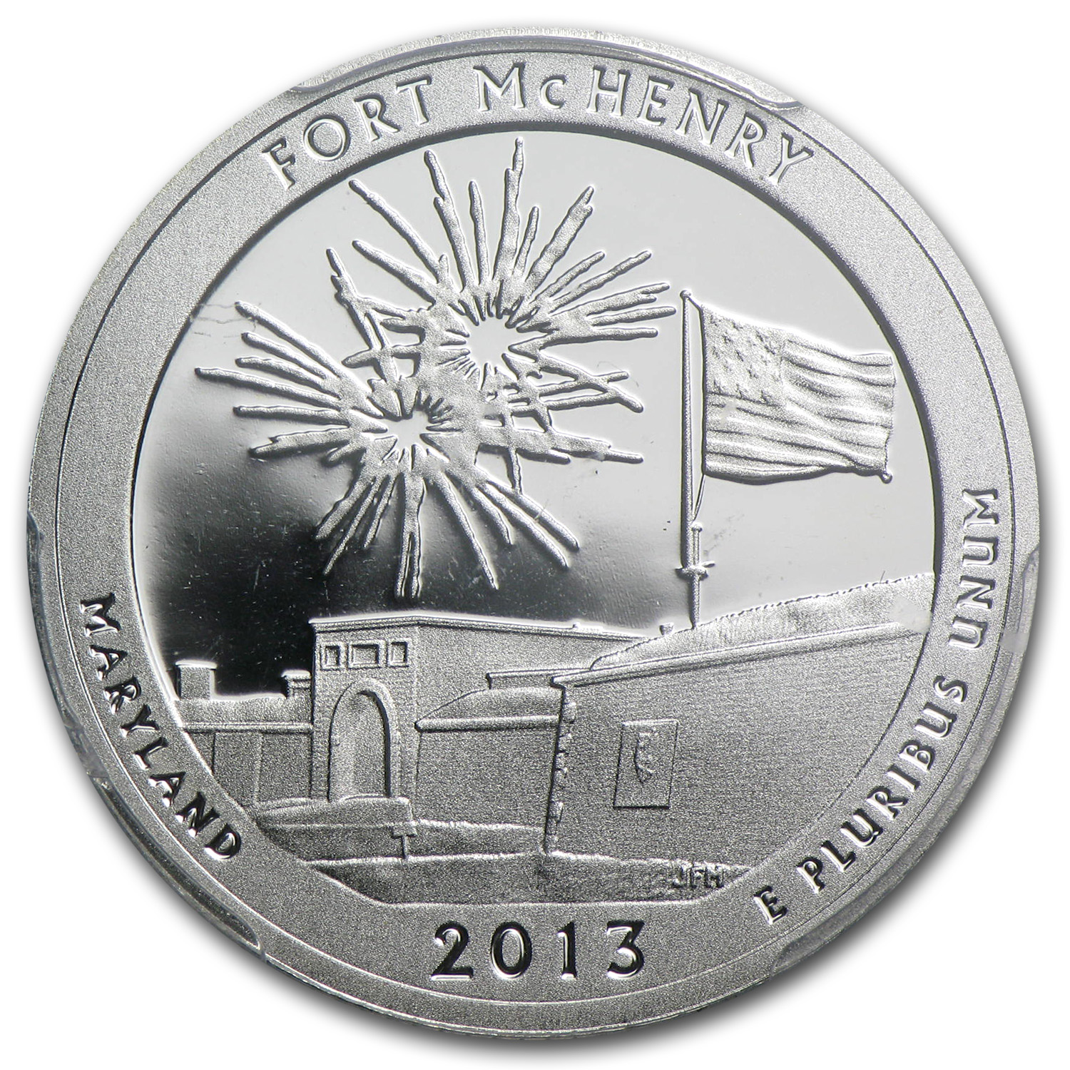 2013 Limited Edition Proof Silver Fort McHenry Quarter PR-69 FS
