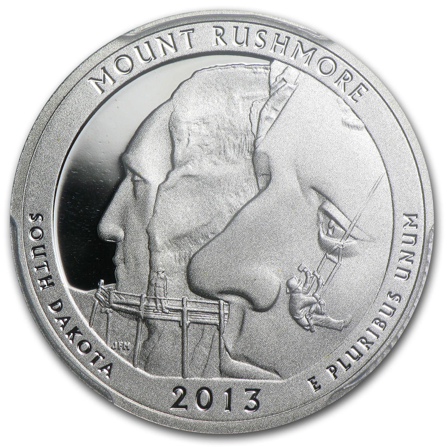 2013 Limited Edition Proof Silver Mount Rushmore Quarter PR-69 FS