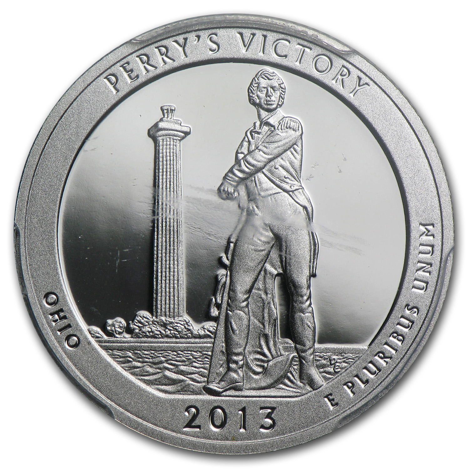 2013 Limited Edition Proof Silver Perrys Victory Quarter PR-69 FS