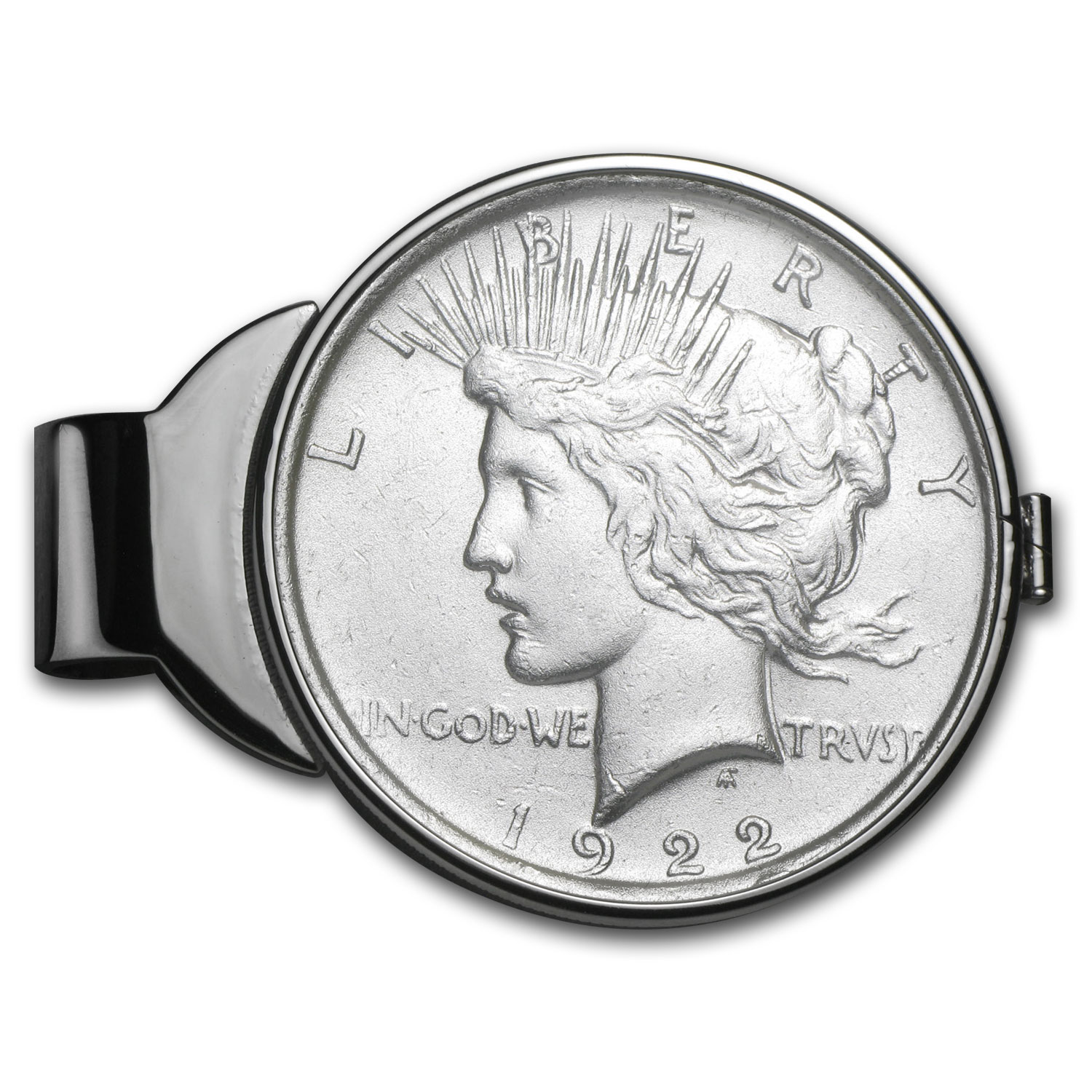 Peace Dollar Money Clip