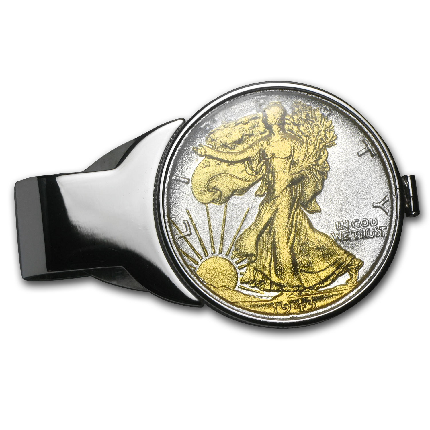 Walking Liberty Money Clip