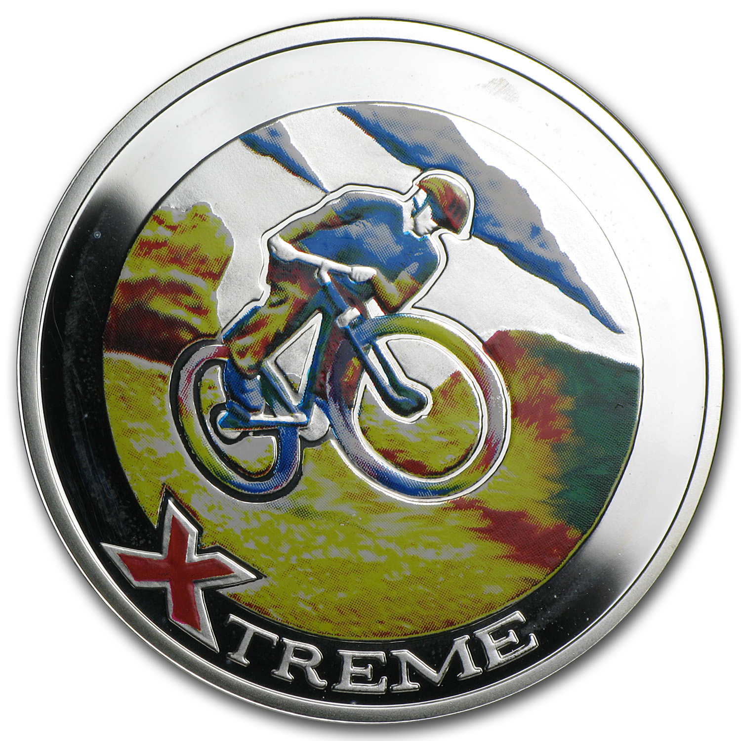 Andorra 2007 Silver 10 Diners Xtreme Sports - Mountain Biking