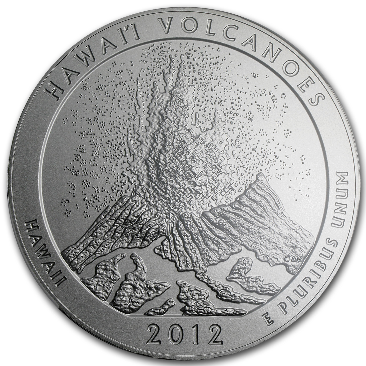 2012-P 5 oz Hawaii Volcanoes SP-70 Early Releases NGC